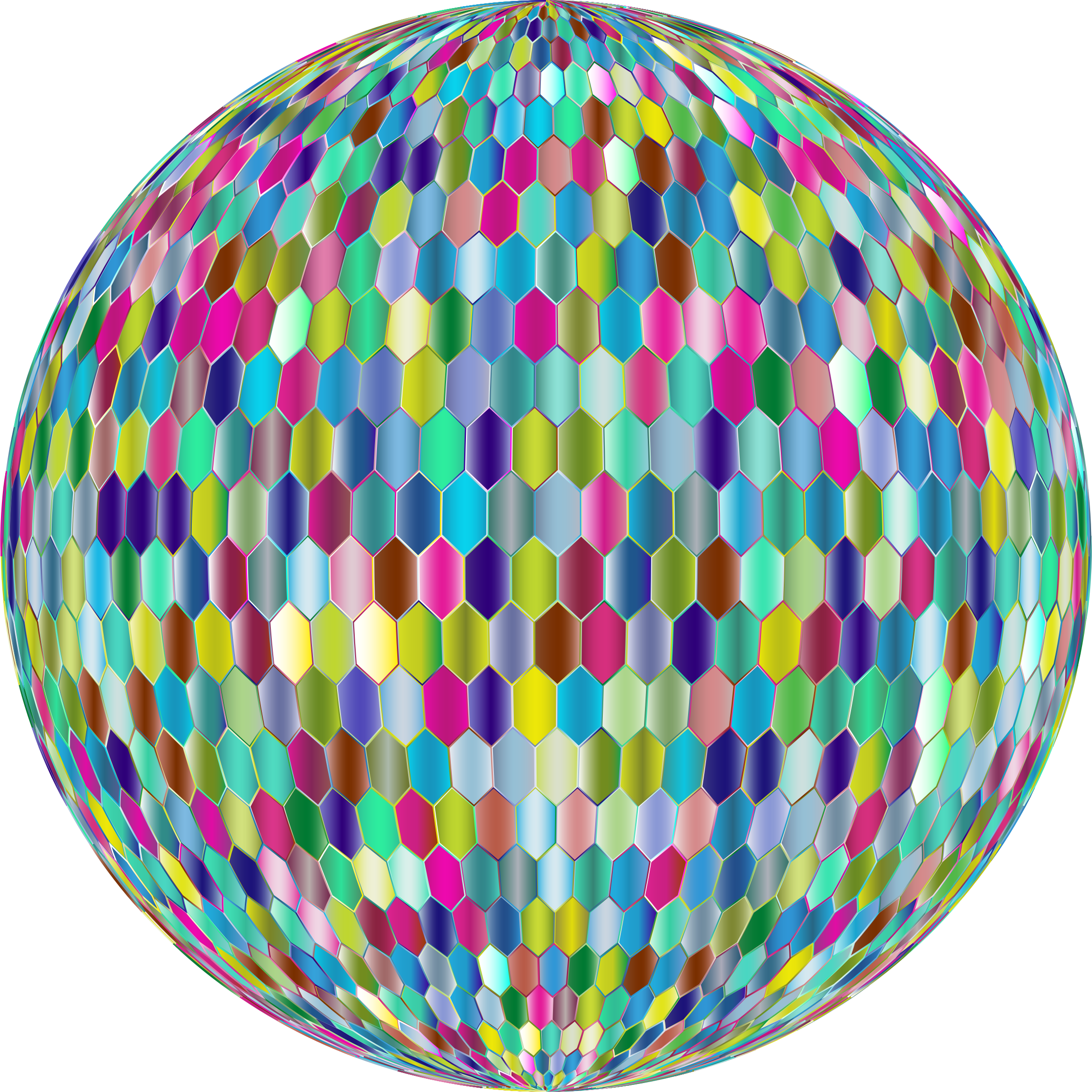 Prismatic Hexagonal Grid Sphere Variation 2 5 by GDJ
