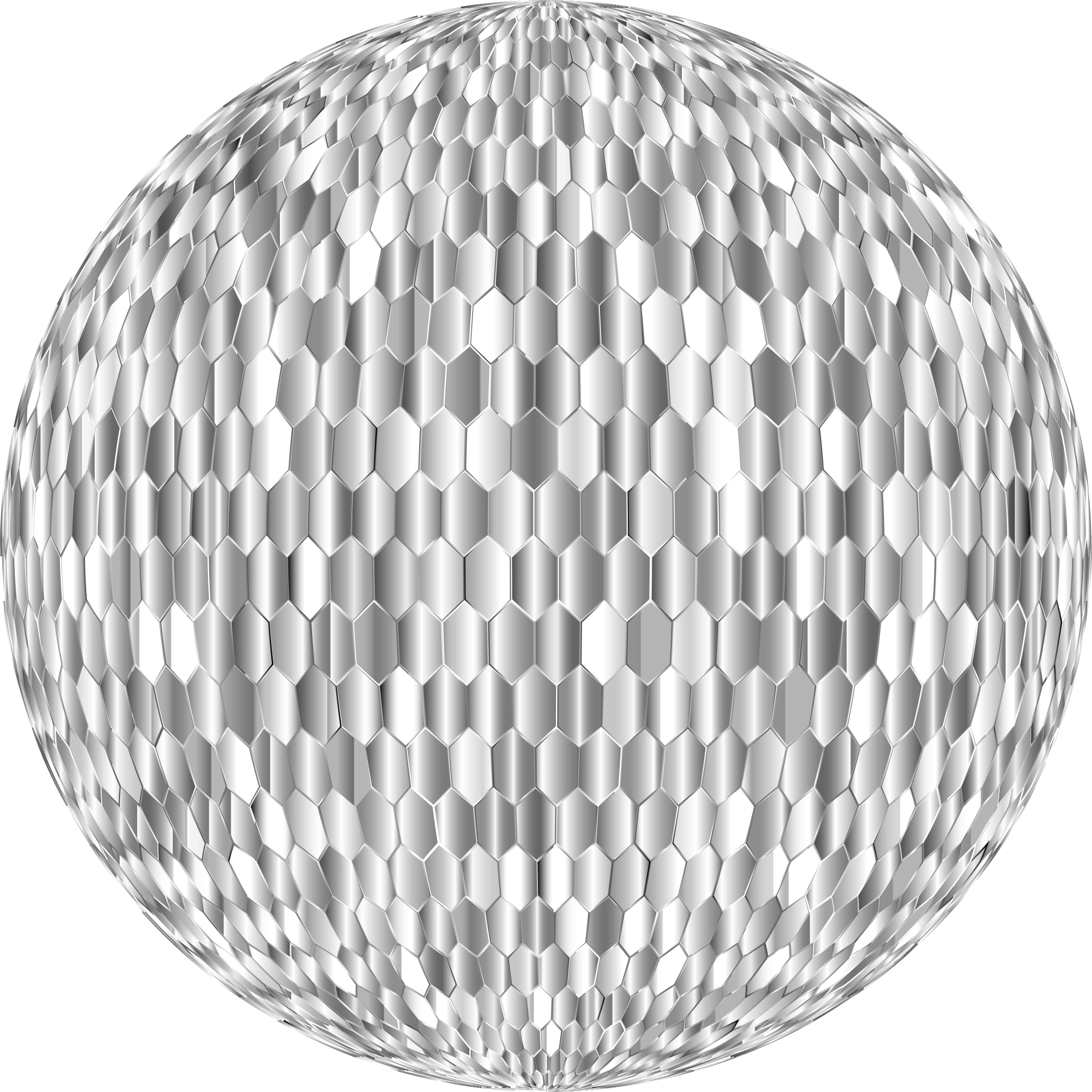 Prismatic Hexagonal Grid Sphere Variation 2 7 by GDJ