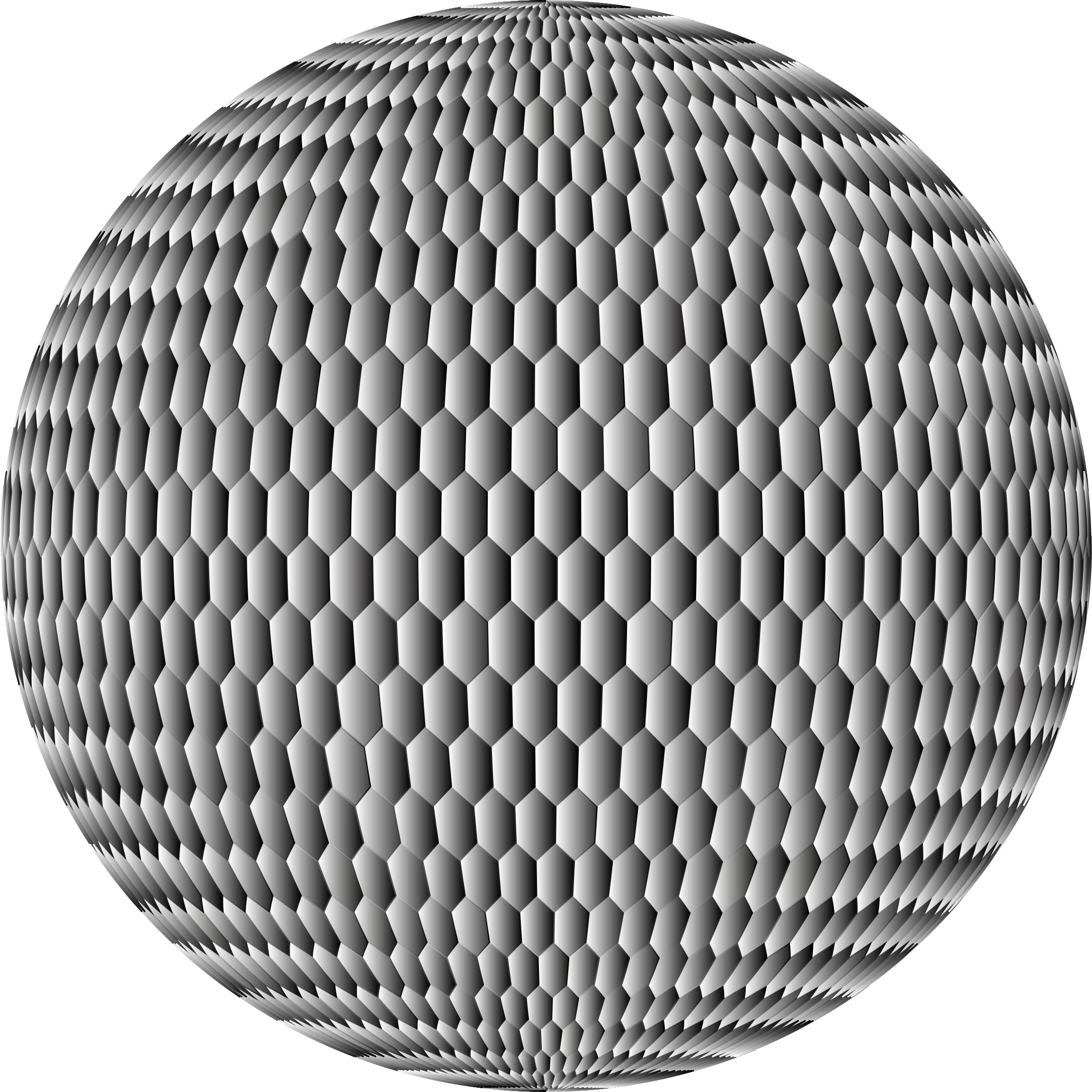 Prismatic Hexagonal Grid Sphere Variation 2 8 by GDJ