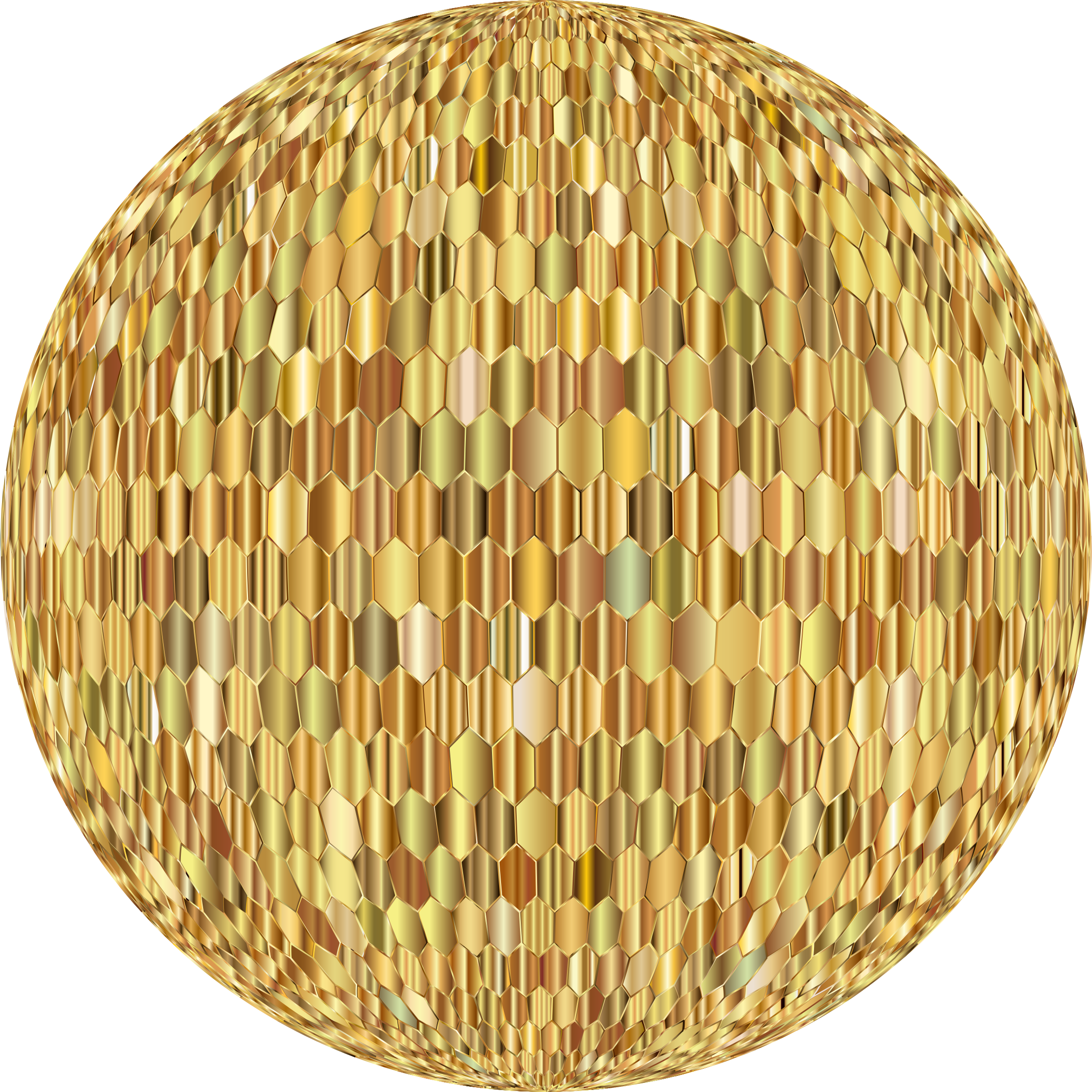 Prismatic Hexagonal Grid Sphere Variation 2 9 by GDJ