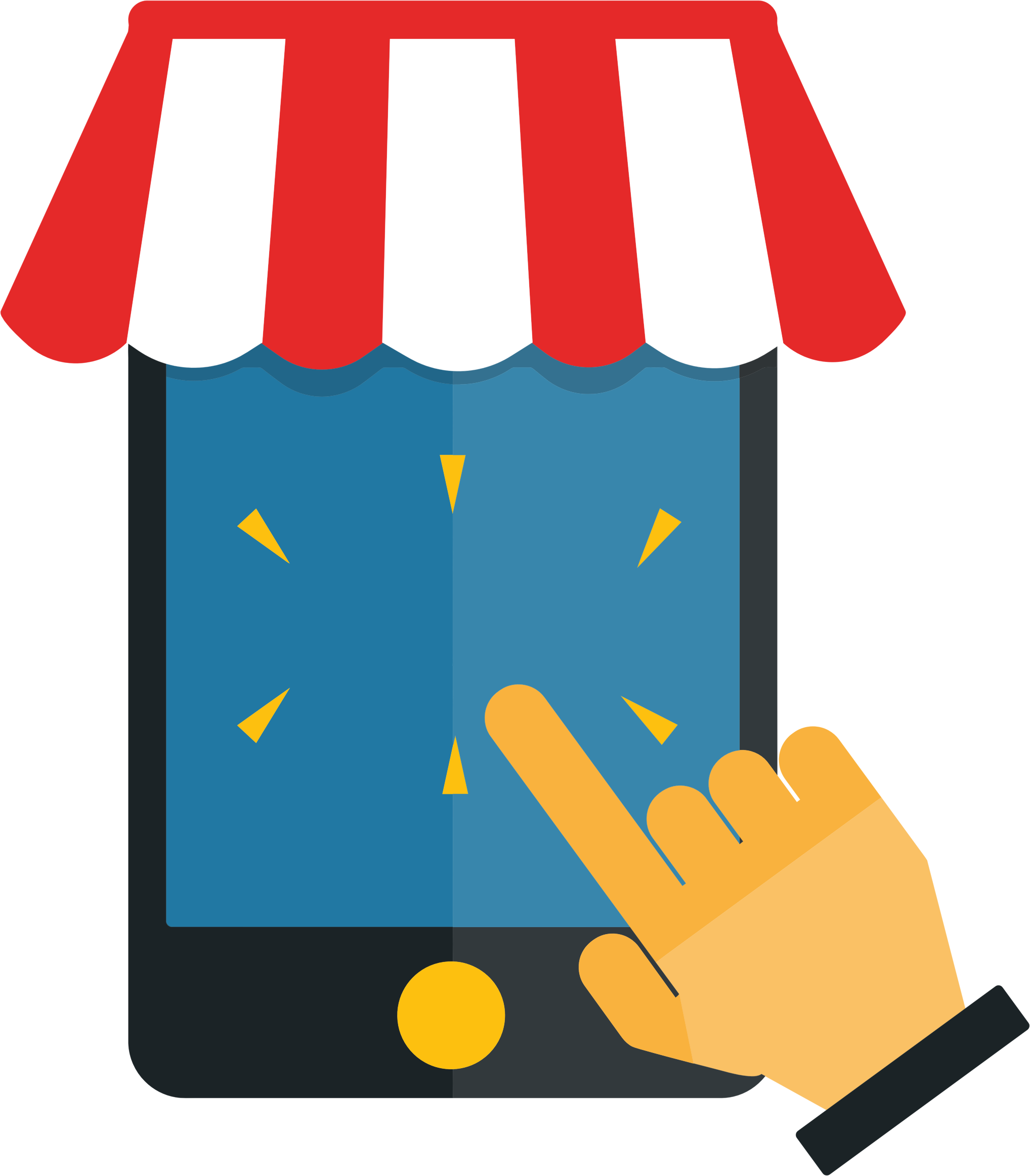 Mobile Shopping No Text by GDJ