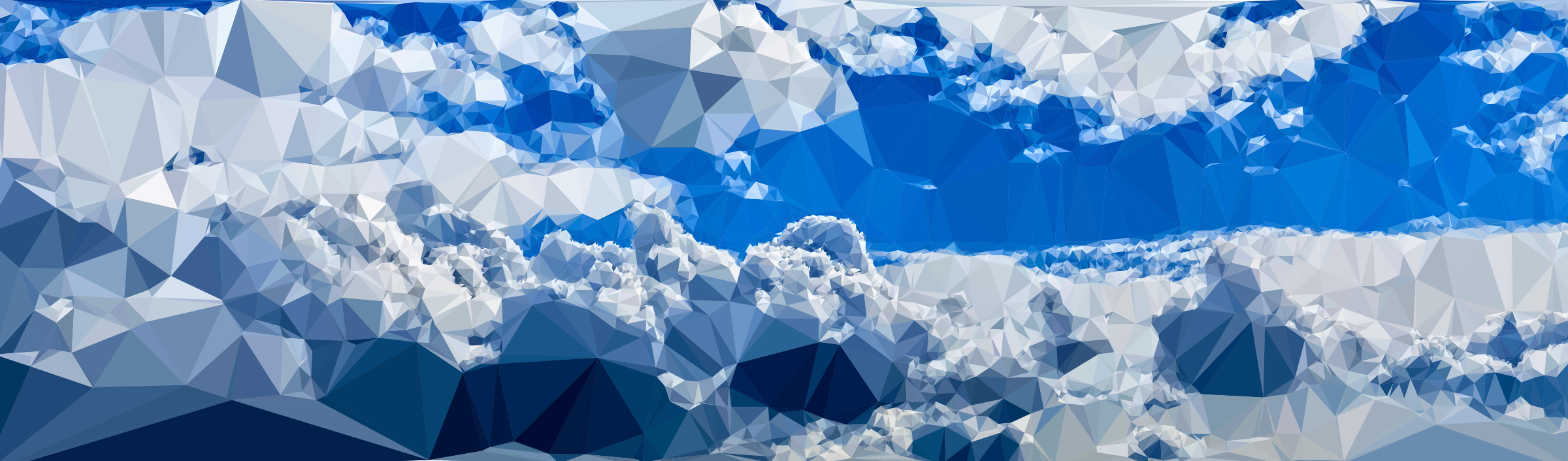 Low Poly Cloudscape Panorama by GDJ
