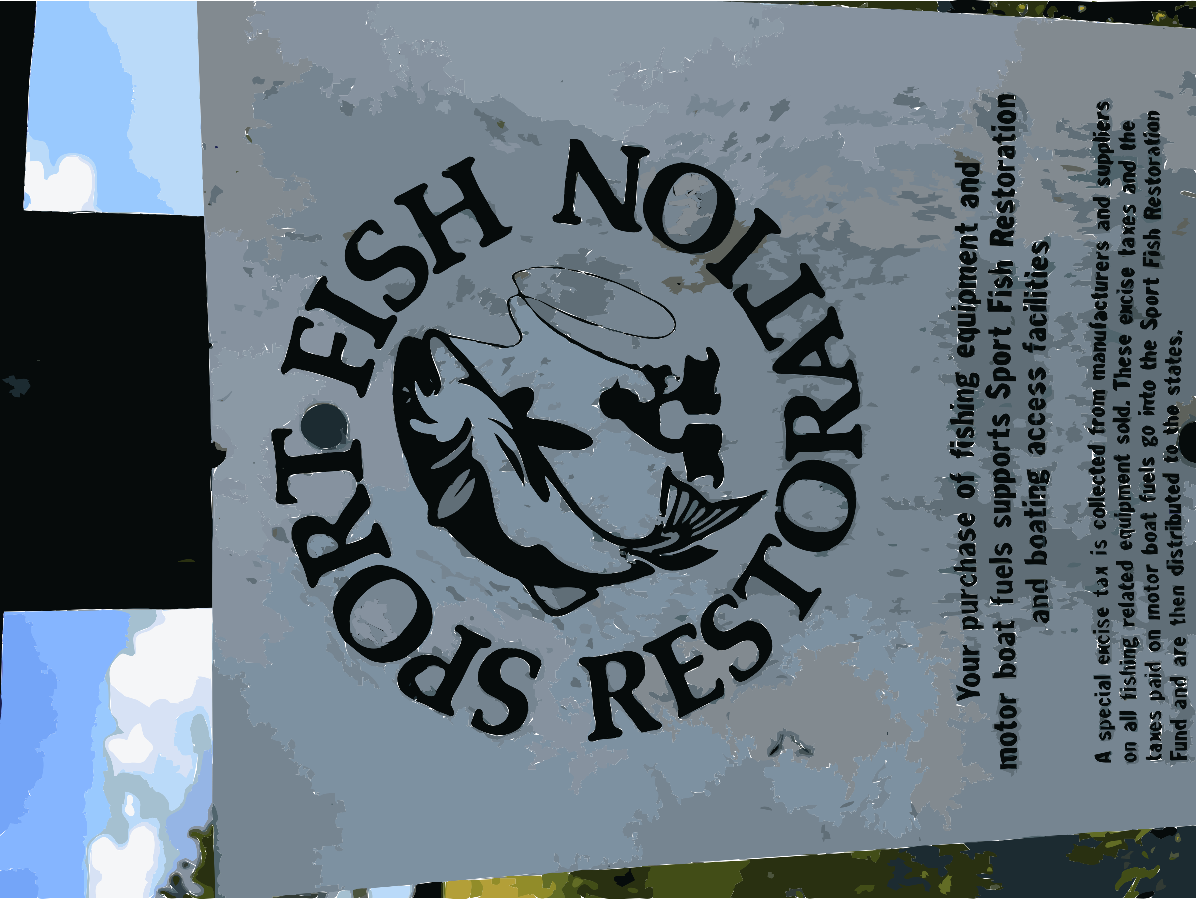 Sports fish restoration request fish extraction by rejon