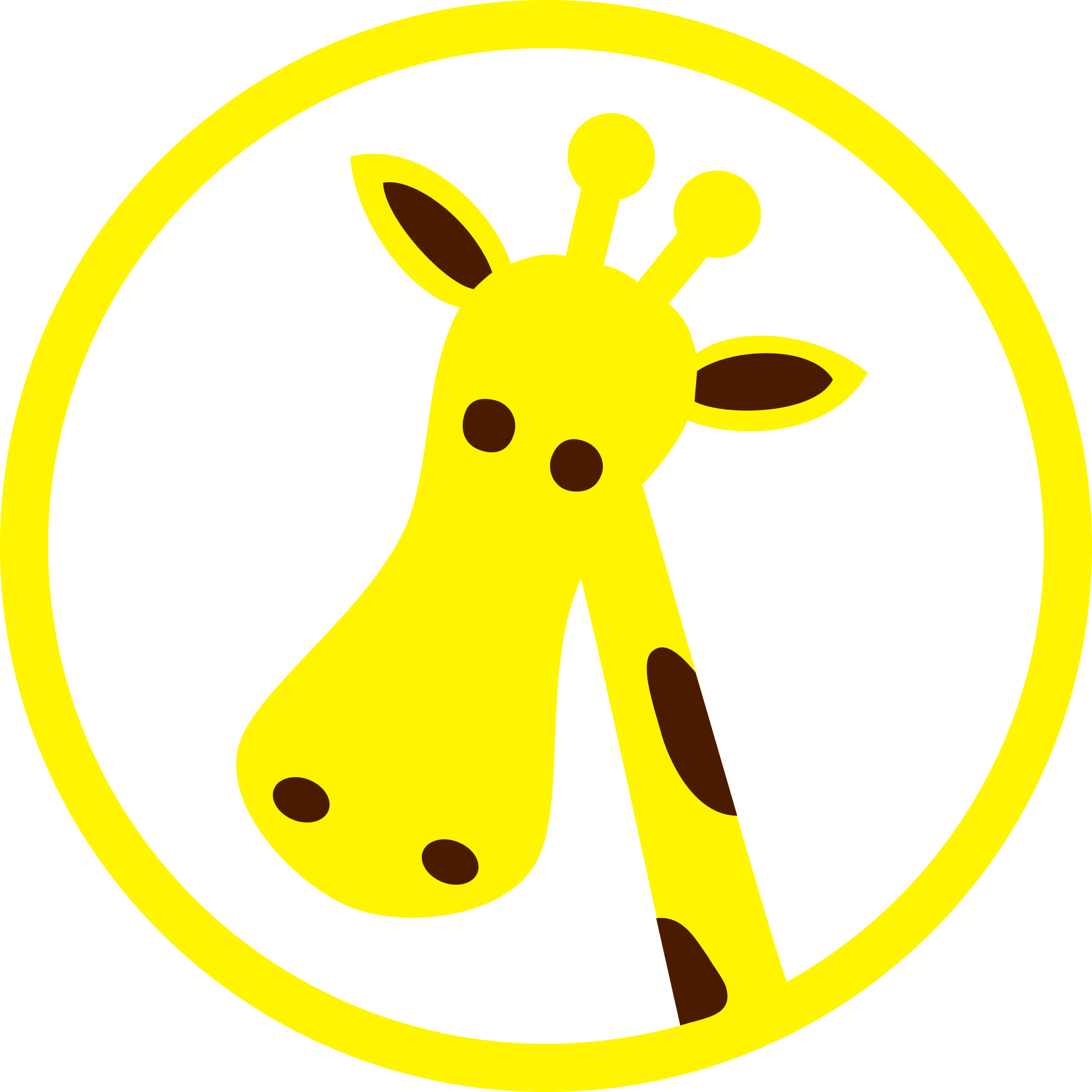 giraffe head by Martouf