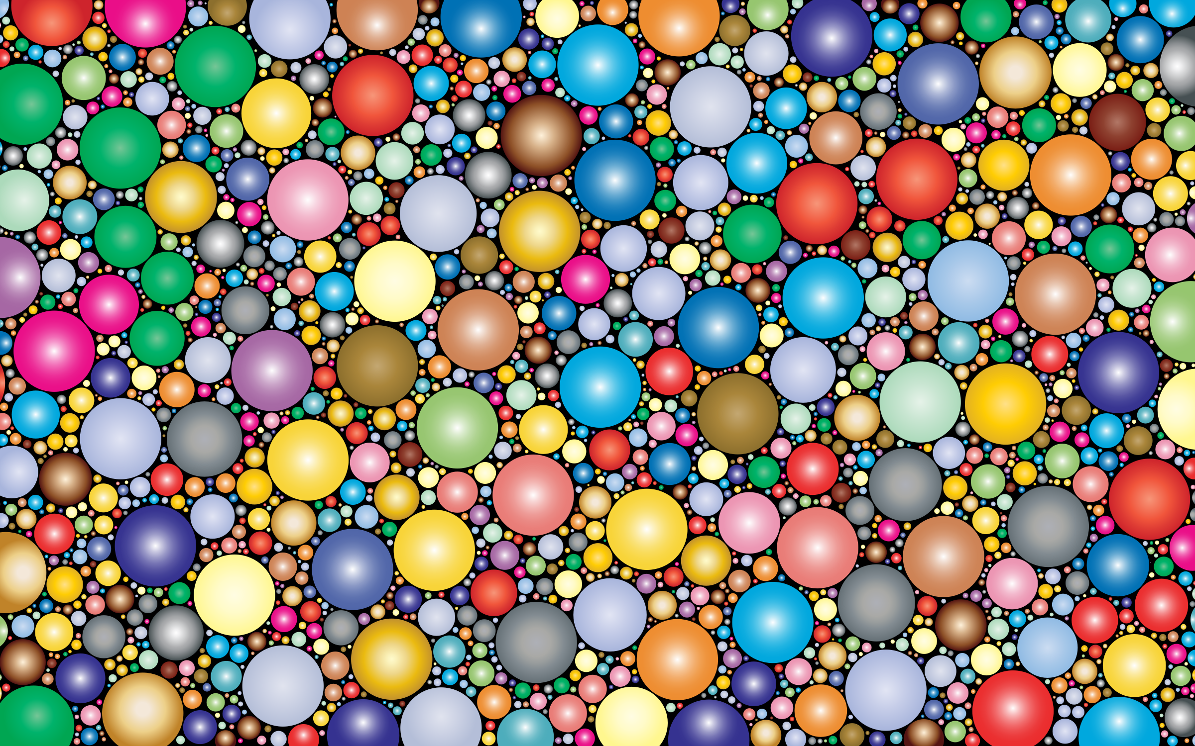 Prismatic Packed Circles 3 by GDJ