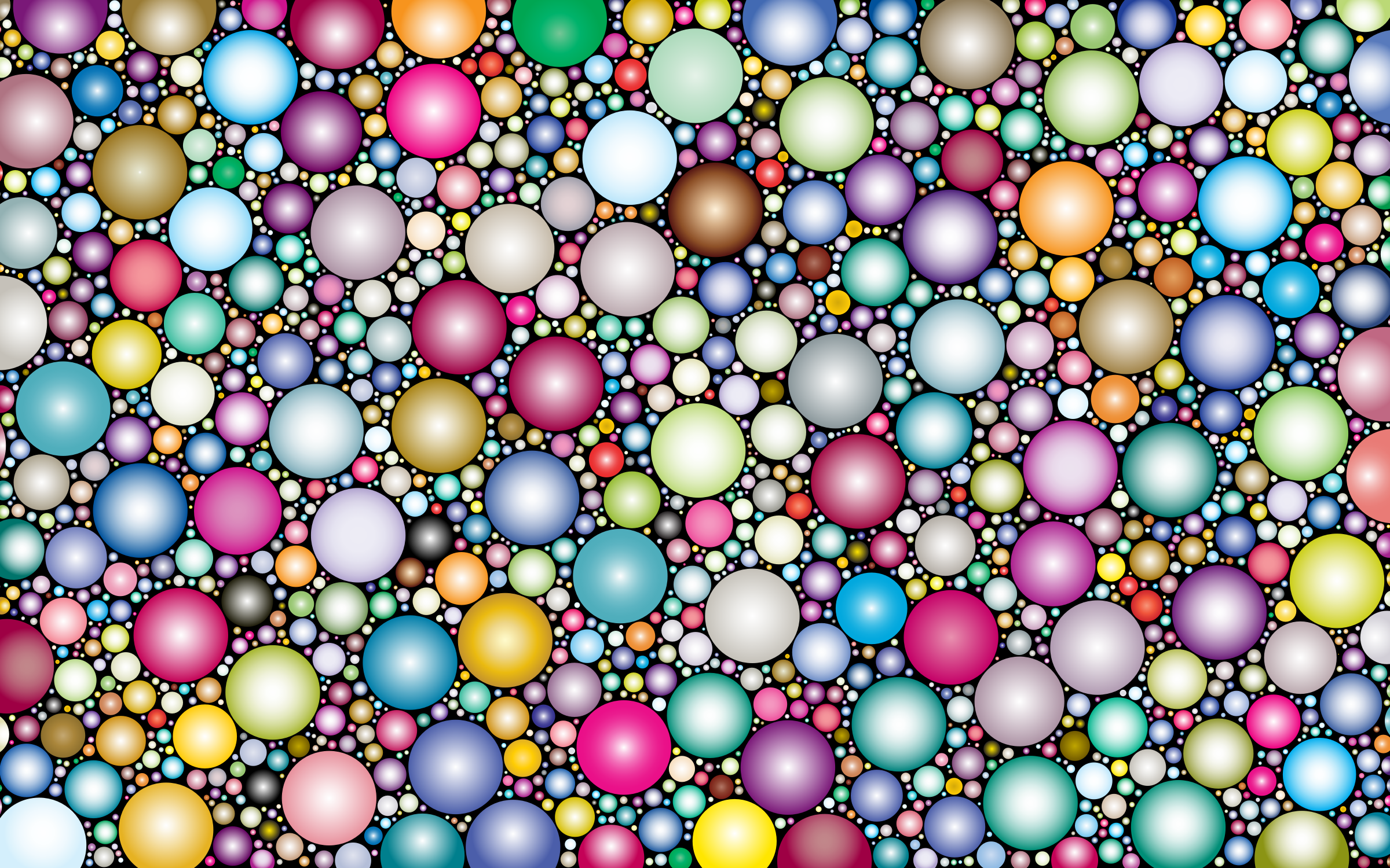 Prismatic Packed Circles 4 by GDJ