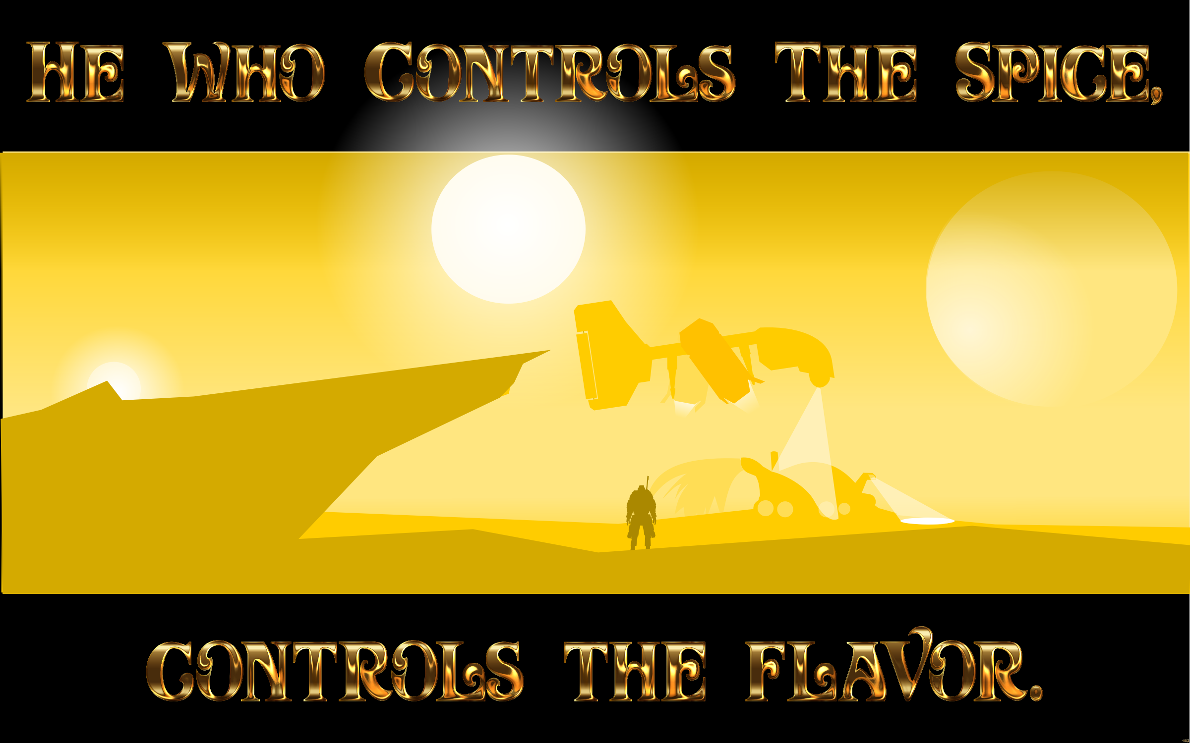 Control The Spice Enhanced by GDJ