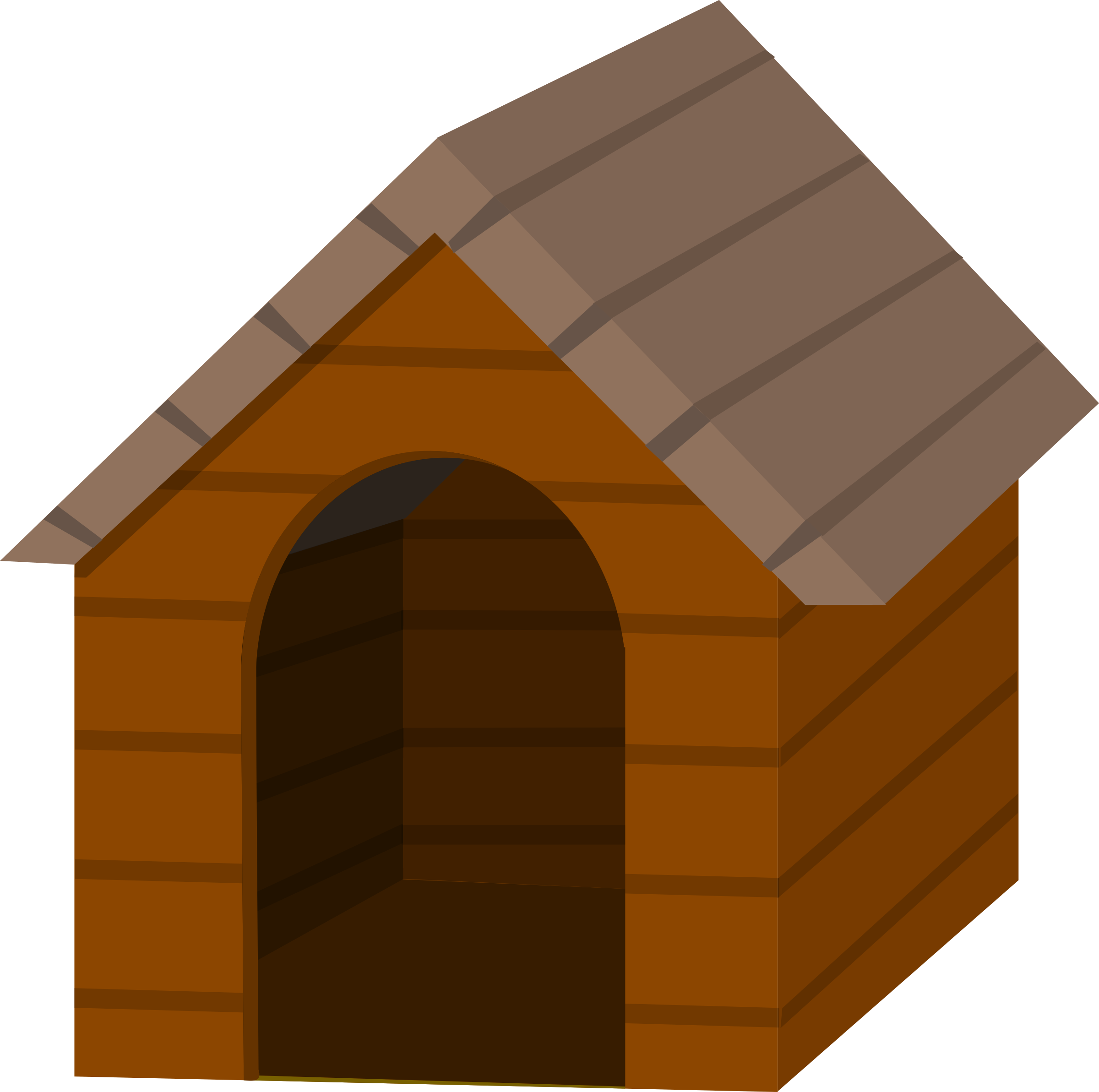 Free Vector Dog House
