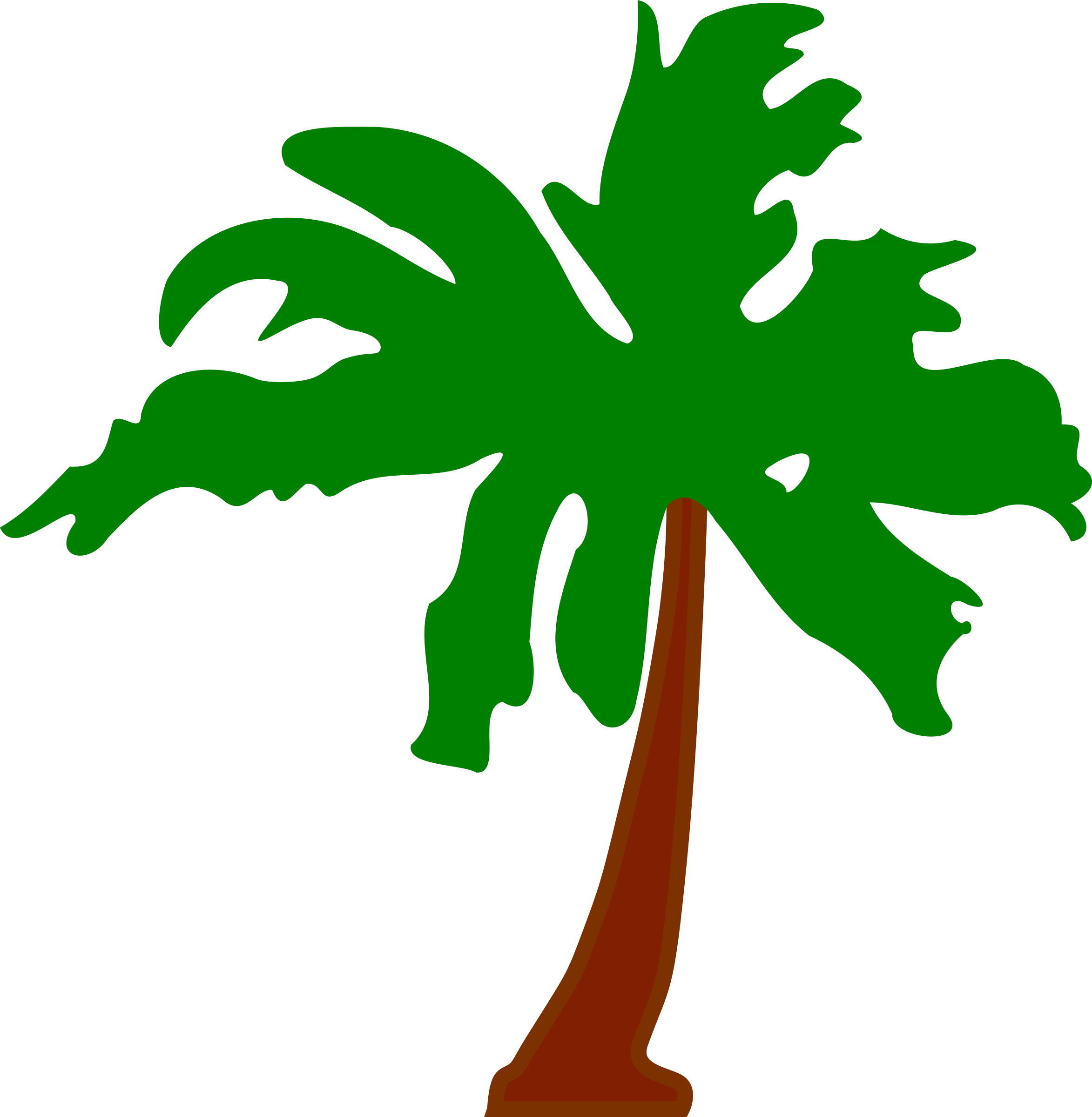 Palm tree 5 by Firkin