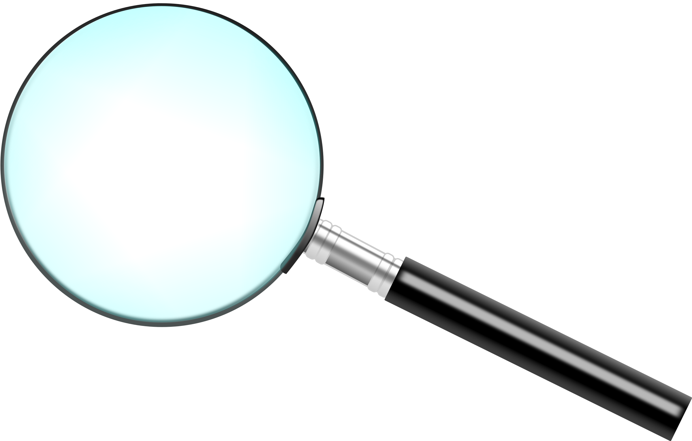 A simple magnifying glass by Wachín