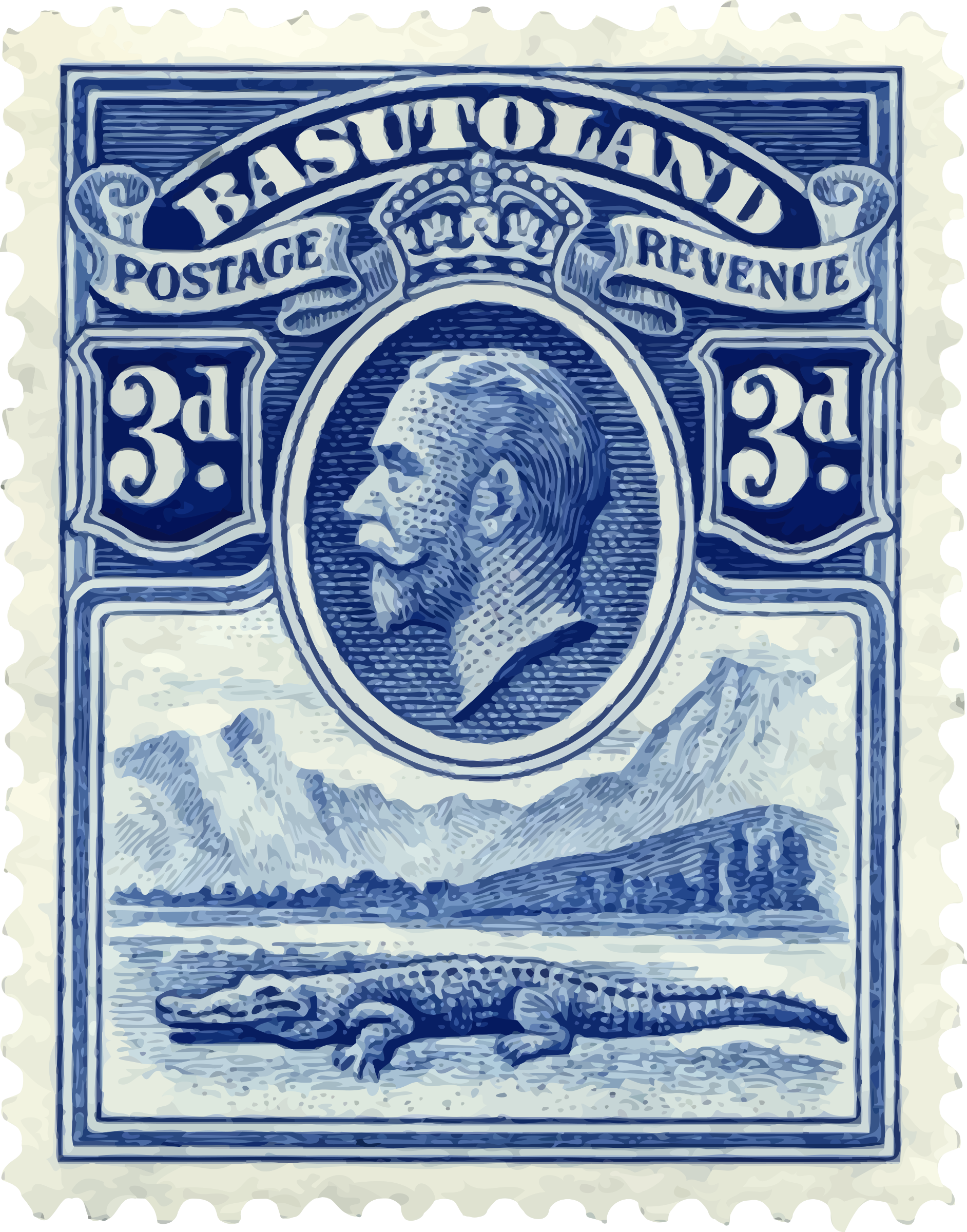 Basutoland stamp by Firkin