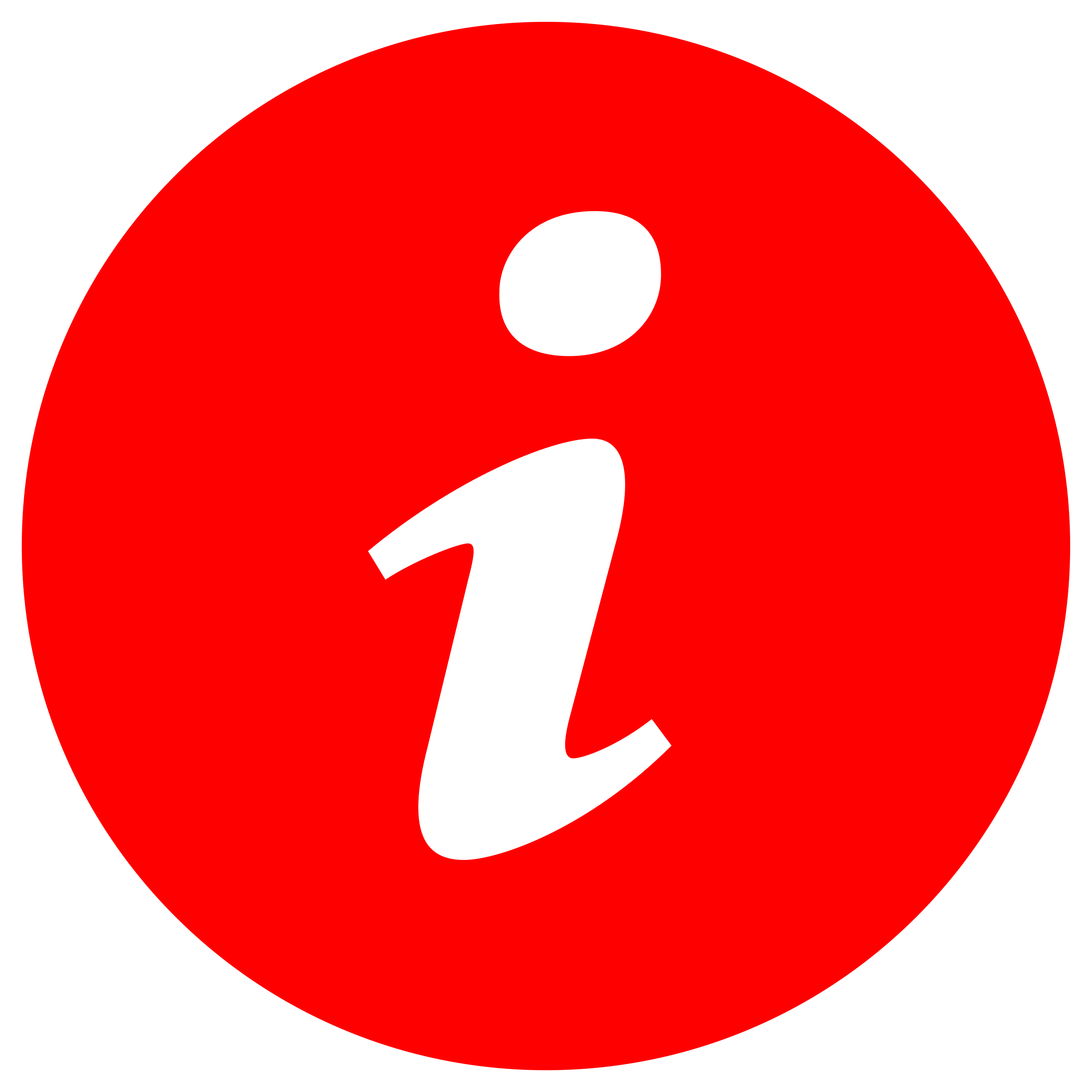 Info Symbol in Circle by algotruneman