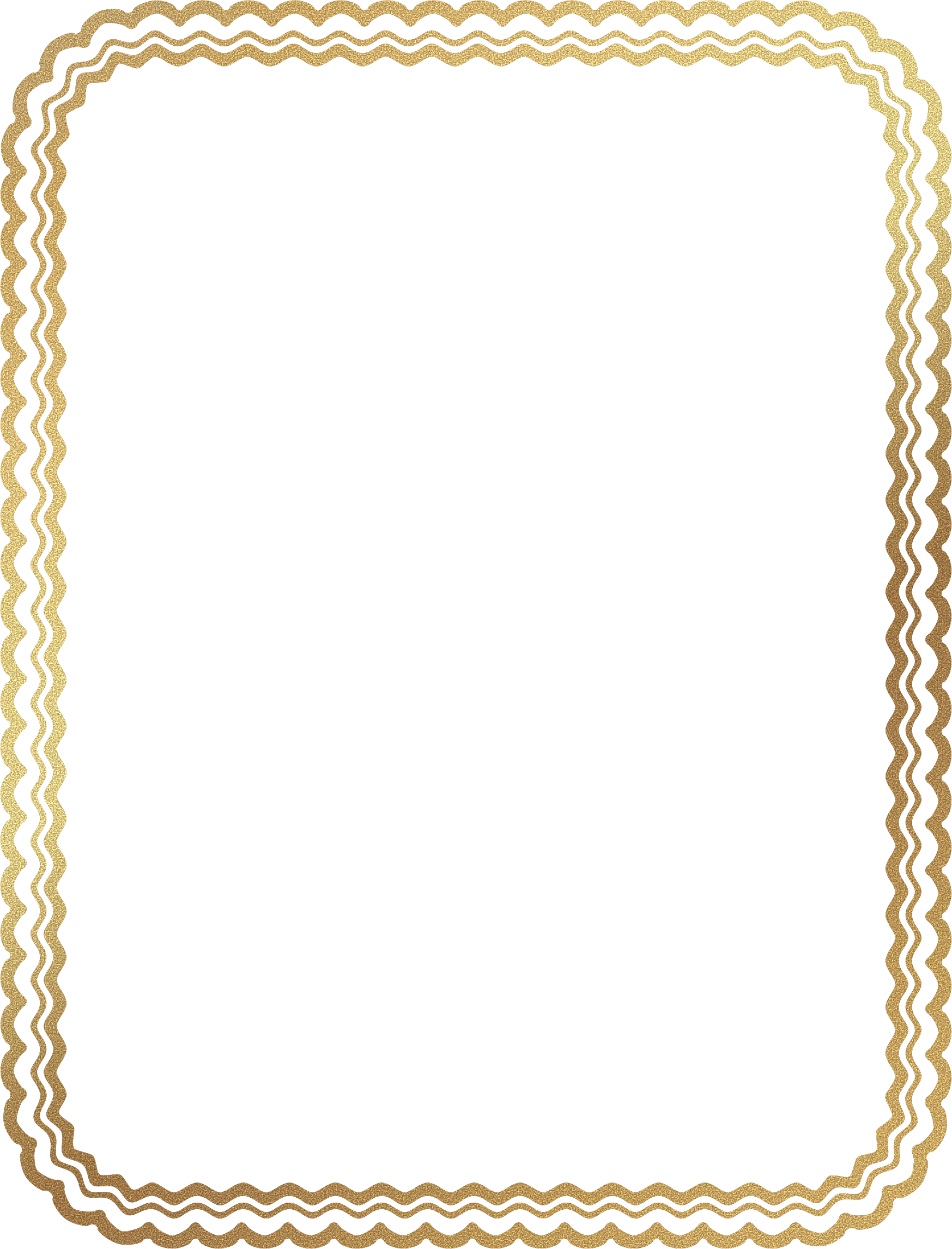 Clipart - Gold Sand Border