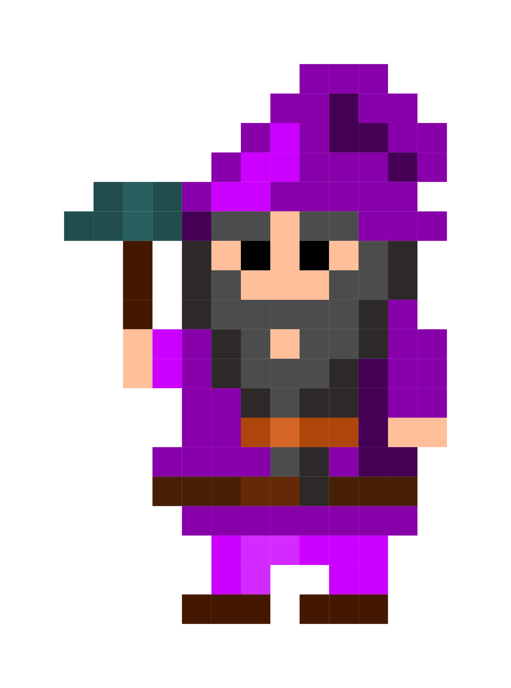 Pixel Dwarf by m_latte