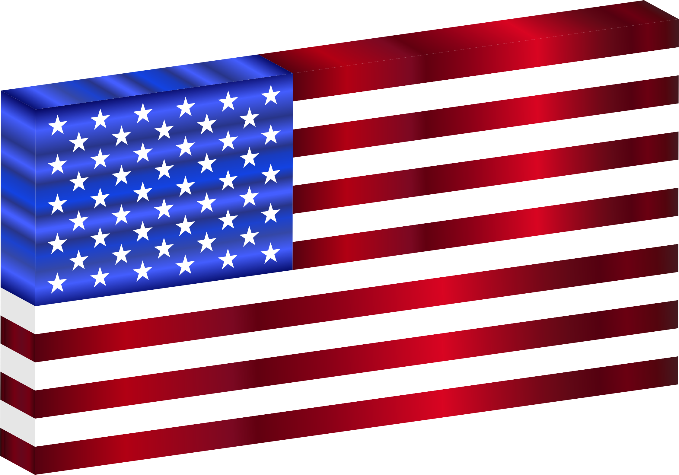 3D USA Flag by GDJ