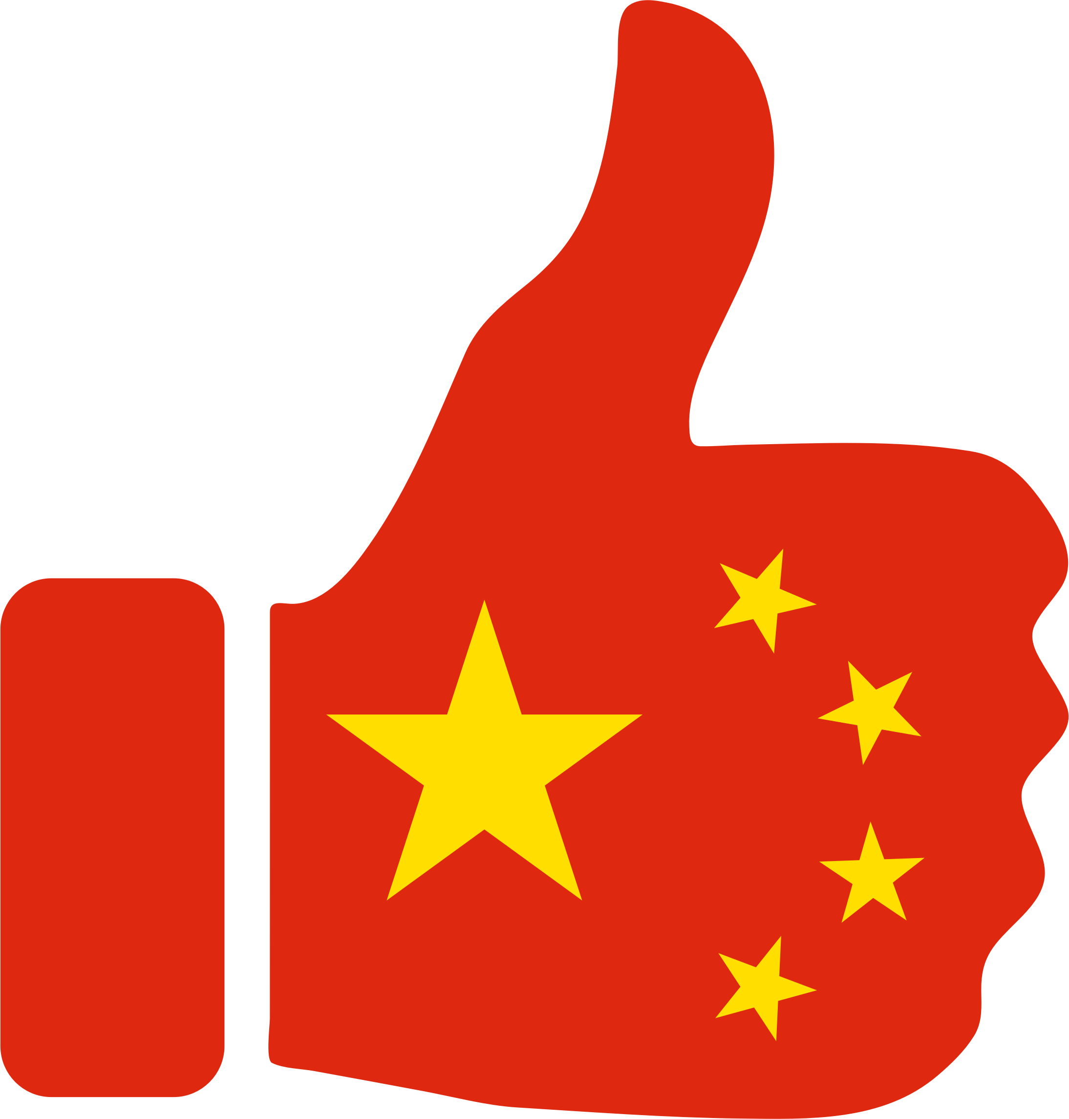 Thumbs Up China by GDJ