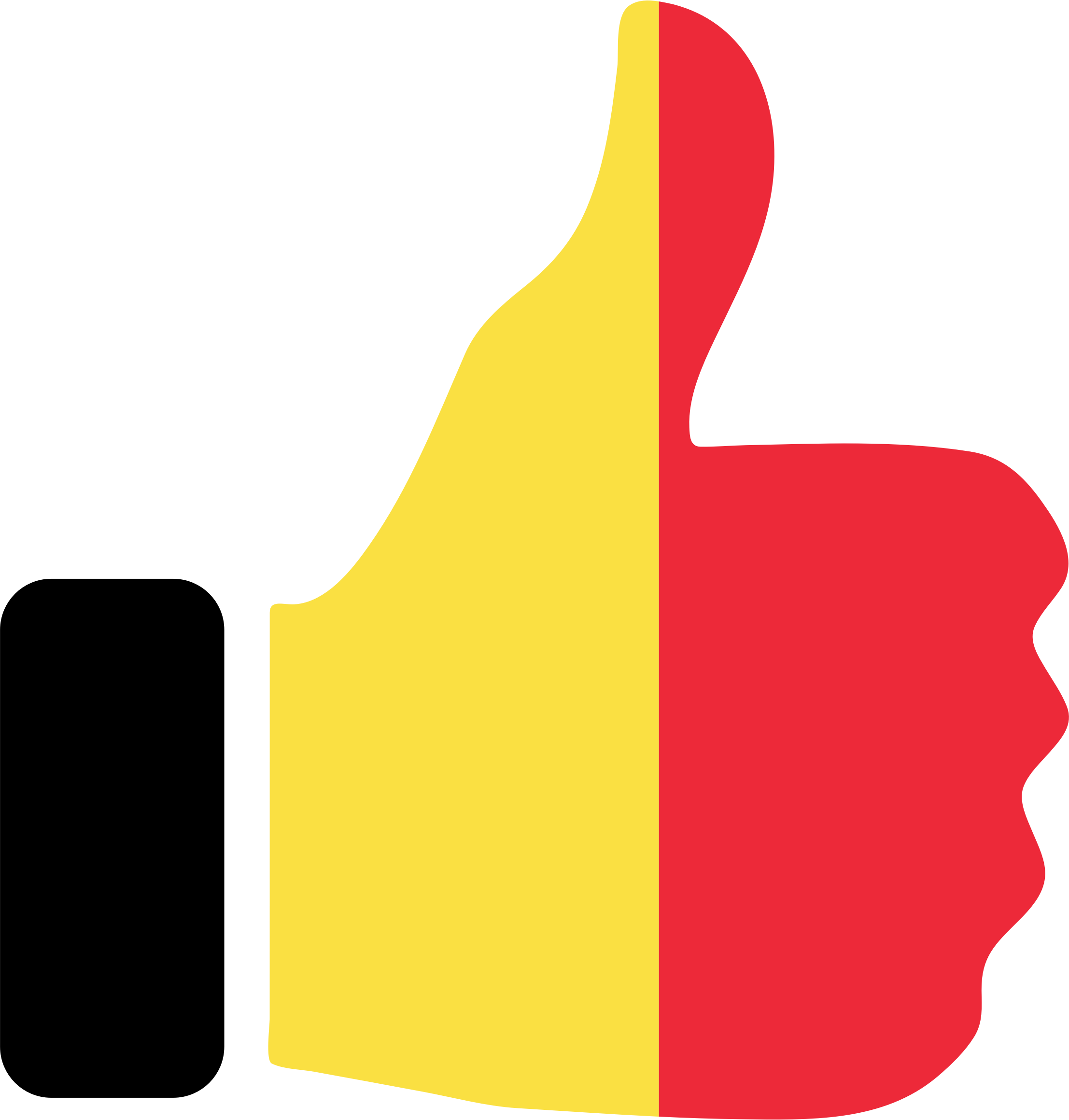 Thumbs Up Belgium by GDJ