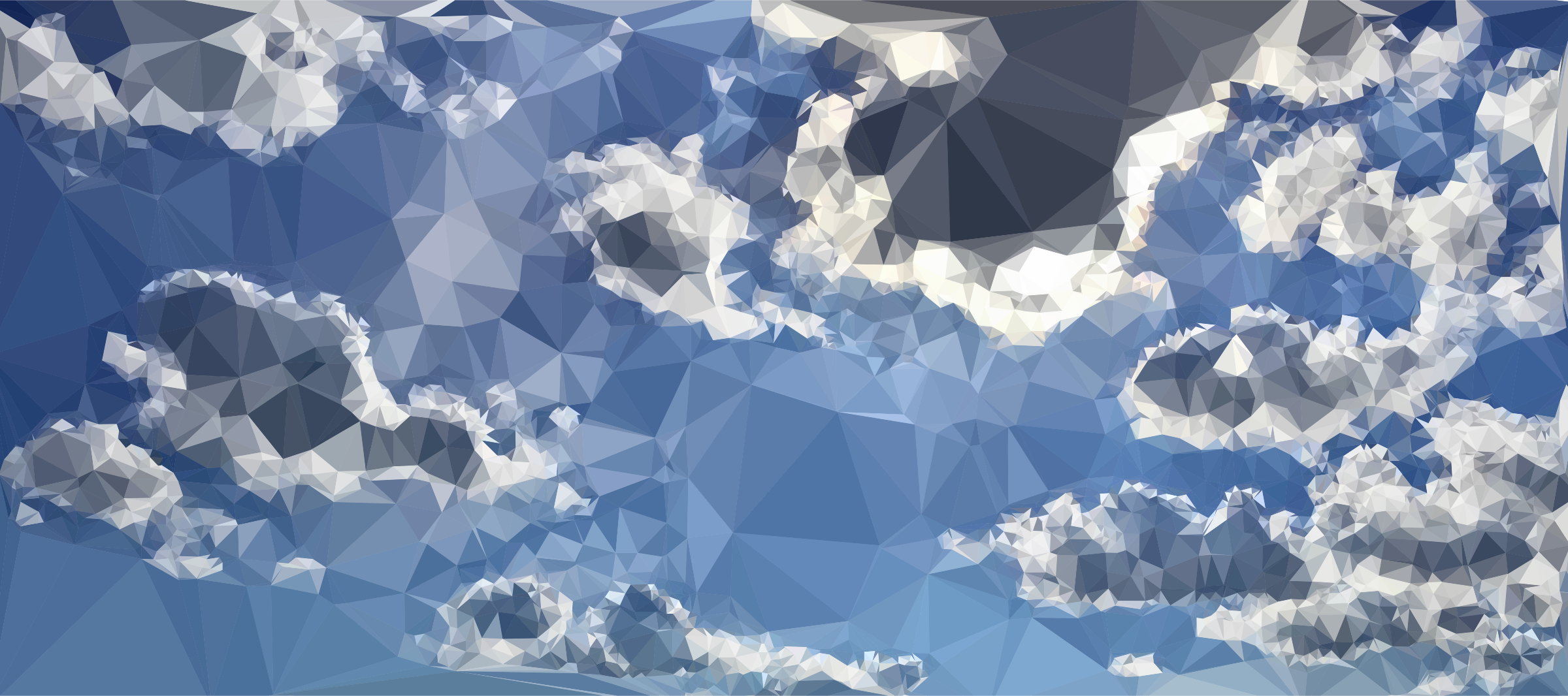 Low Poly Blue Sky 2 by GDJ