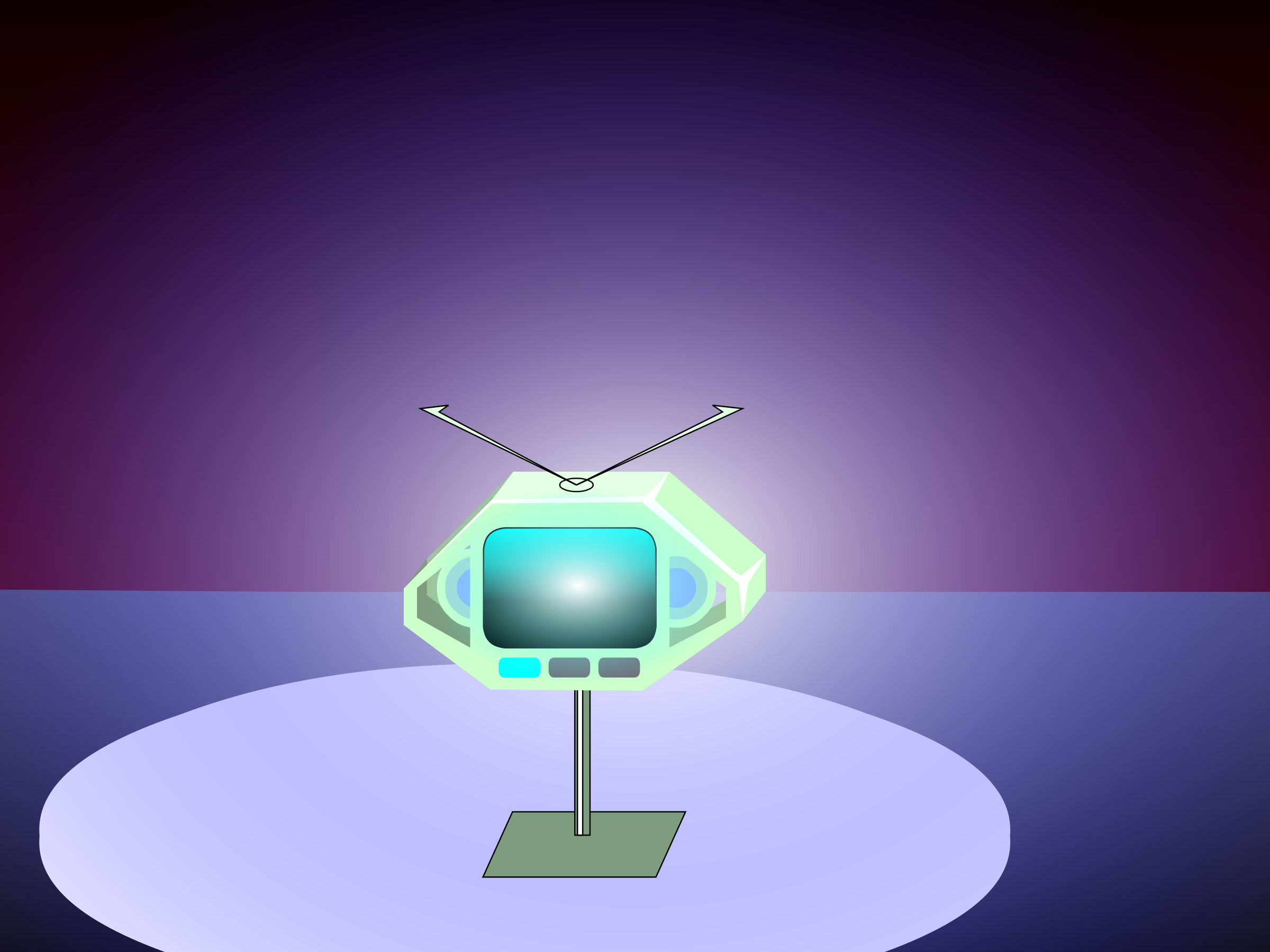 A012: A danger TV is put into the box again. (Animation) by danjiro