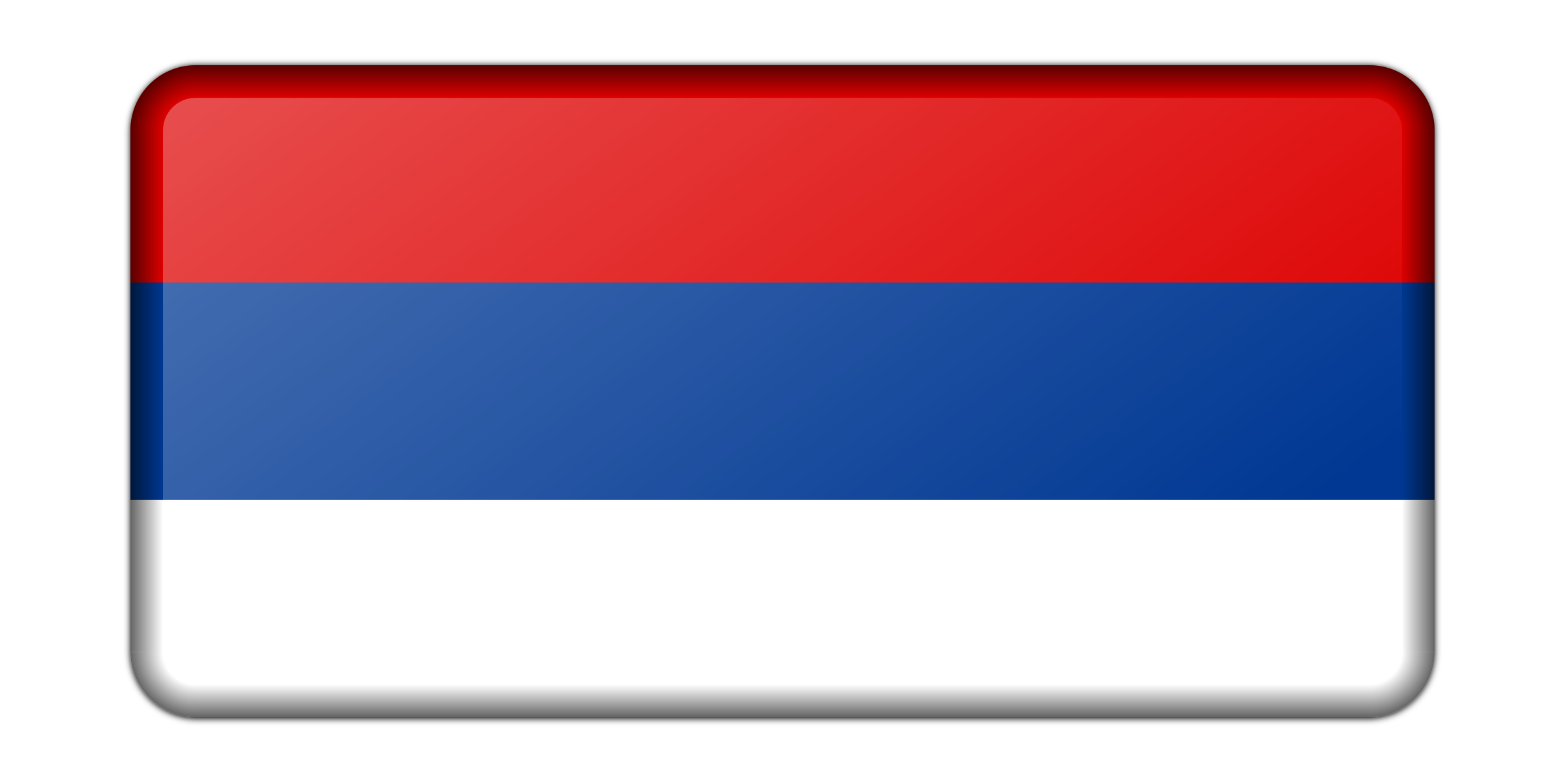 Flag of Republika Srpska (bevelled) by Firkin