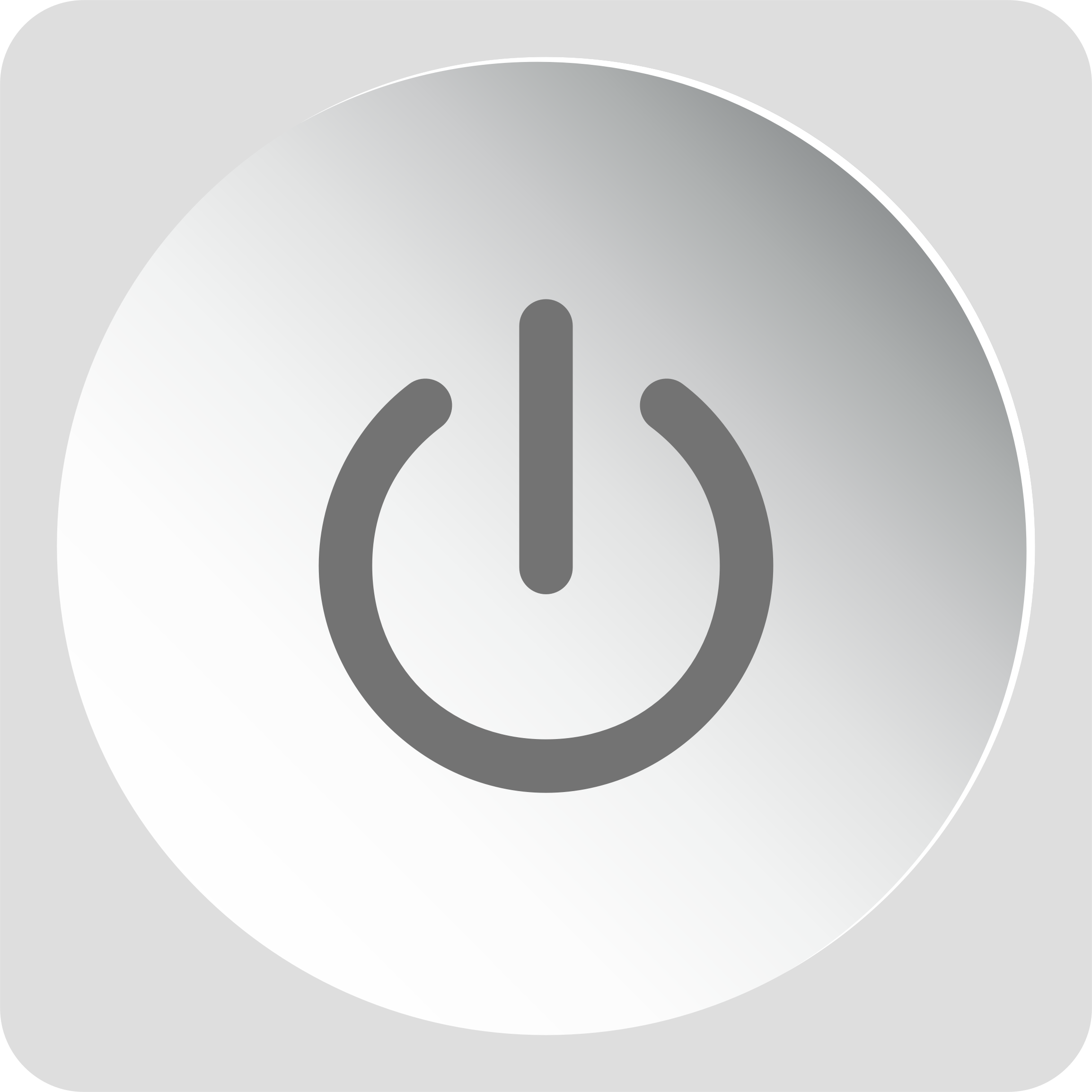 Power Button Icon by GDJ