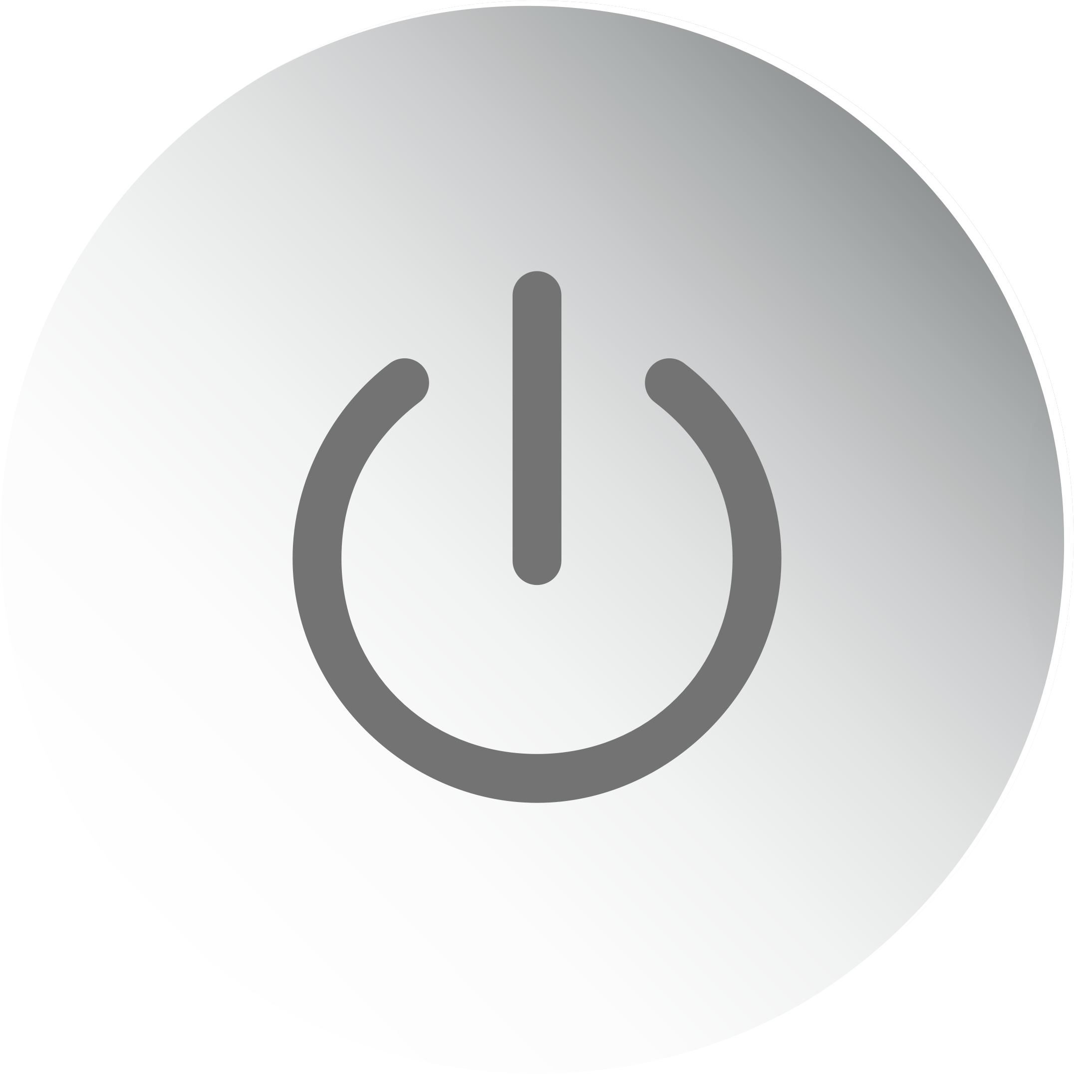 Power Button Icon No Background by GDJ