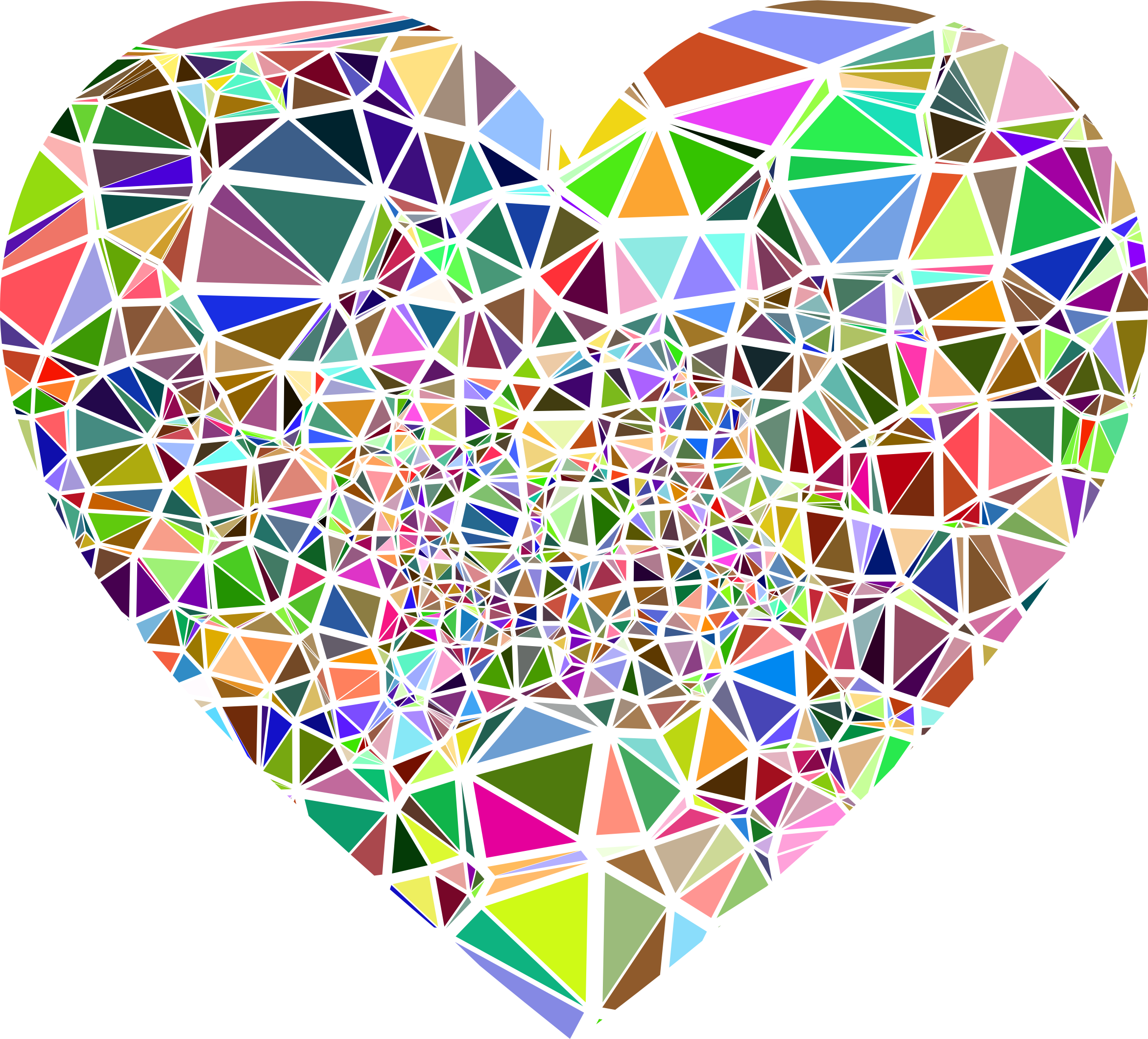 Low Poly Shattered Heart by GDJ