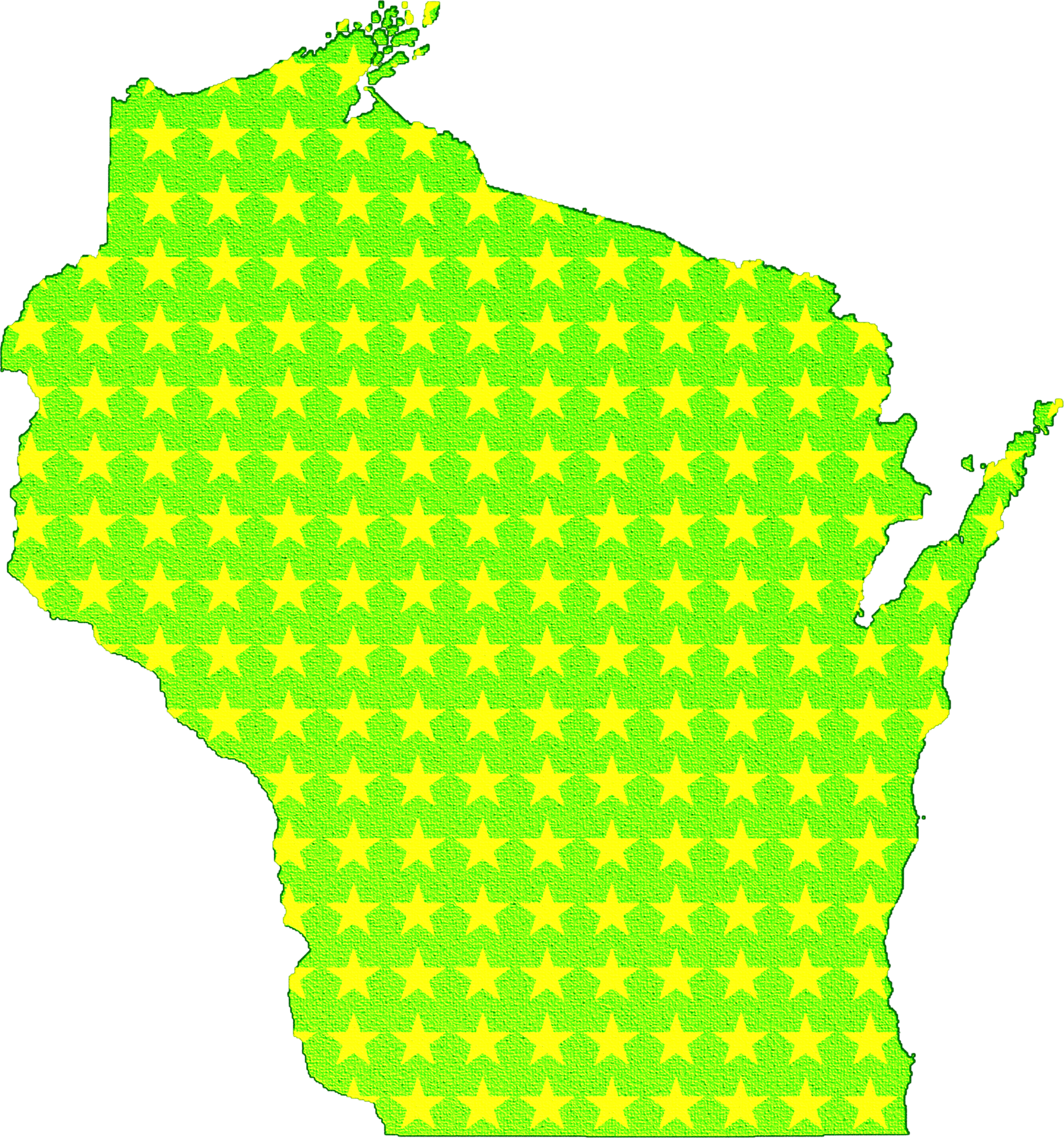 Stars of the State of Wisconsin by AdamStanislav