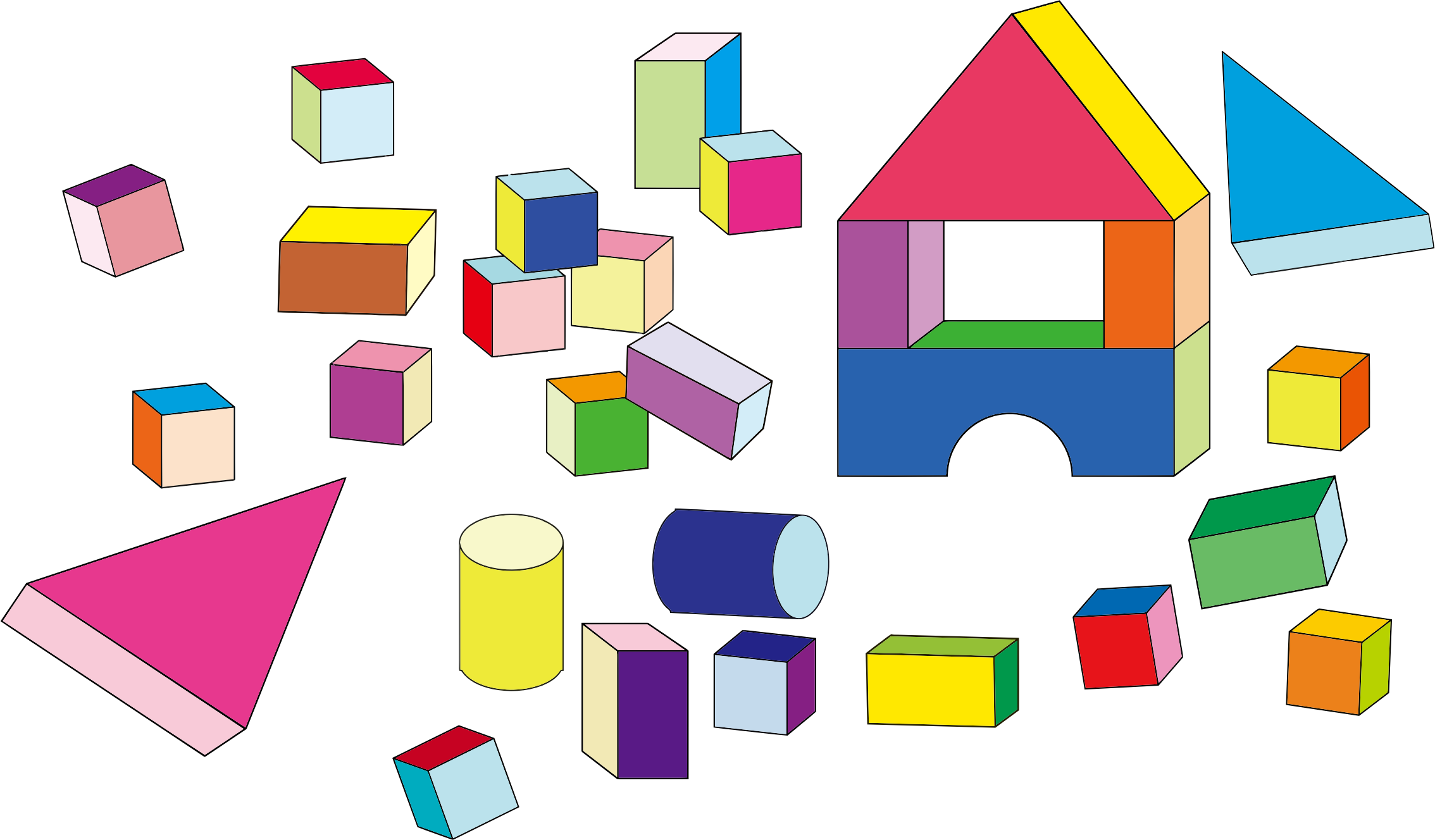 Building Block Toys by GDJ