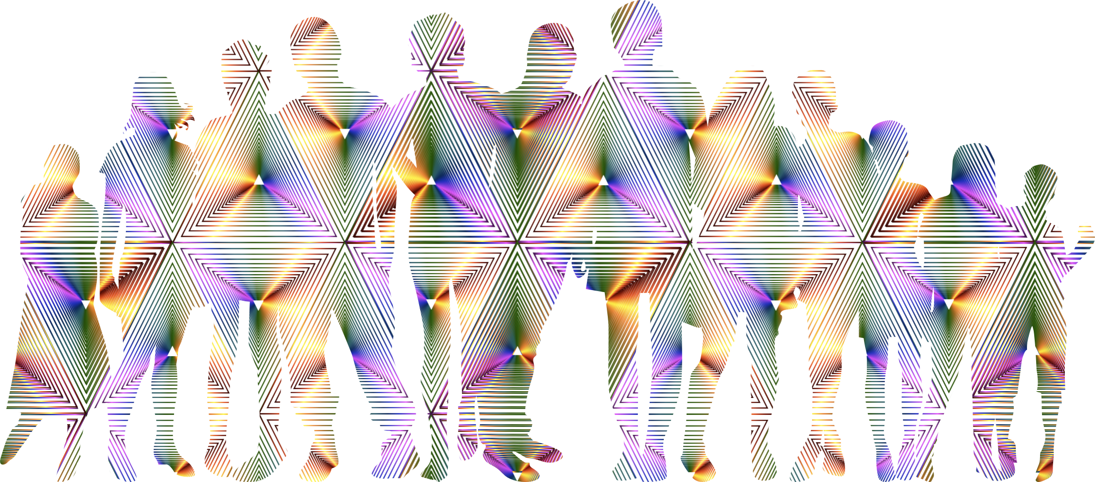 Prismatic Human Family No Background by GDJ