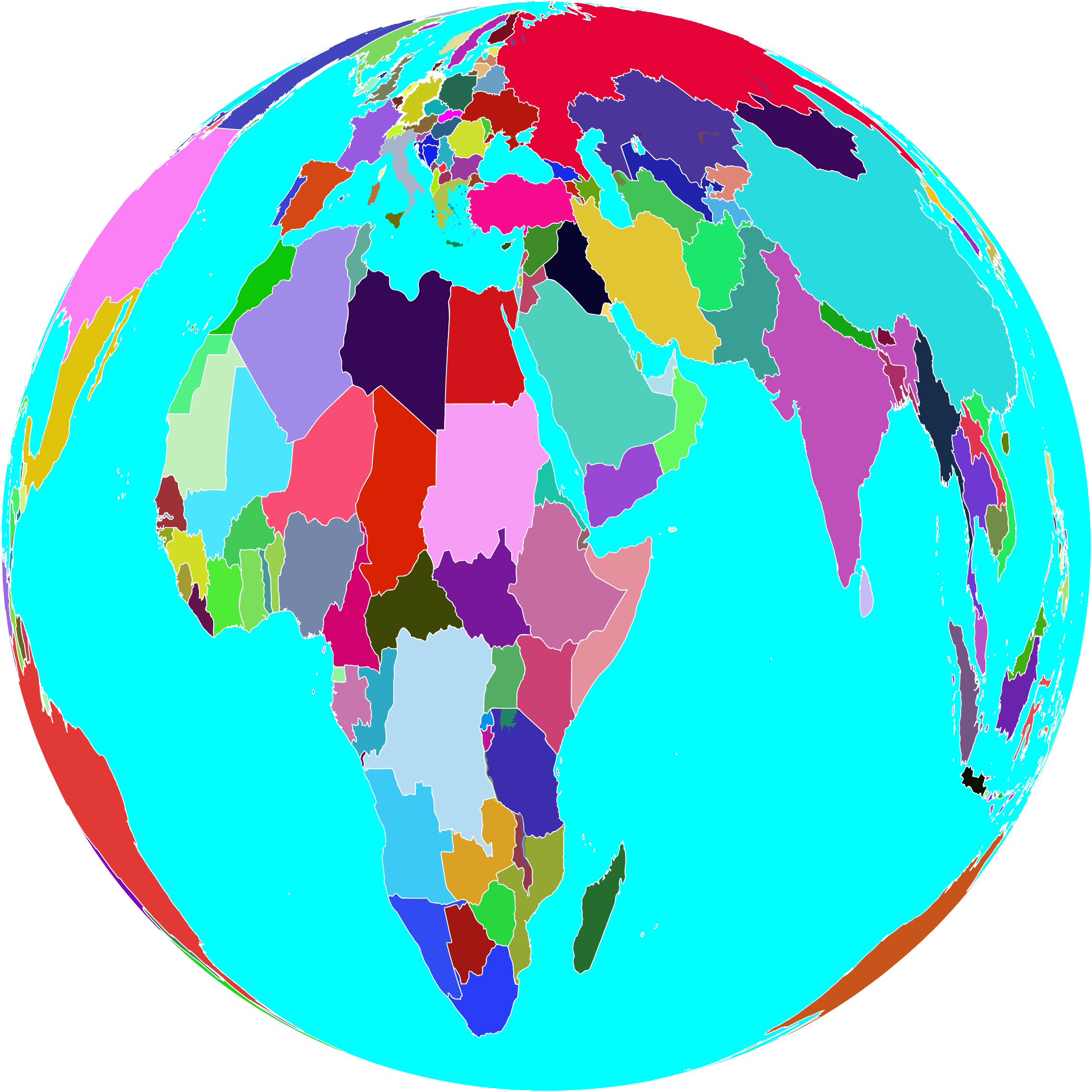 clipart colorful world globe rh openclipart org world globe clipart white world globe clip art free