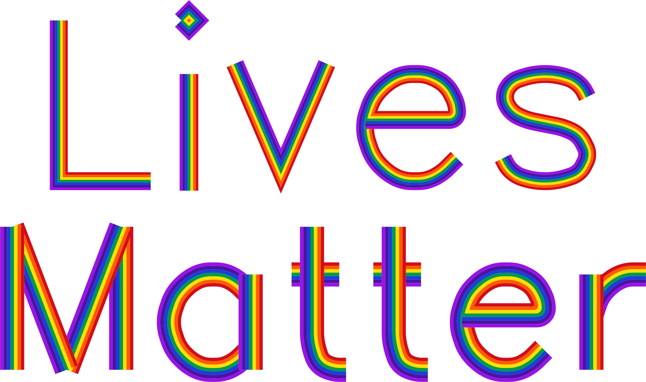 Lives Matter No Background by GDJ