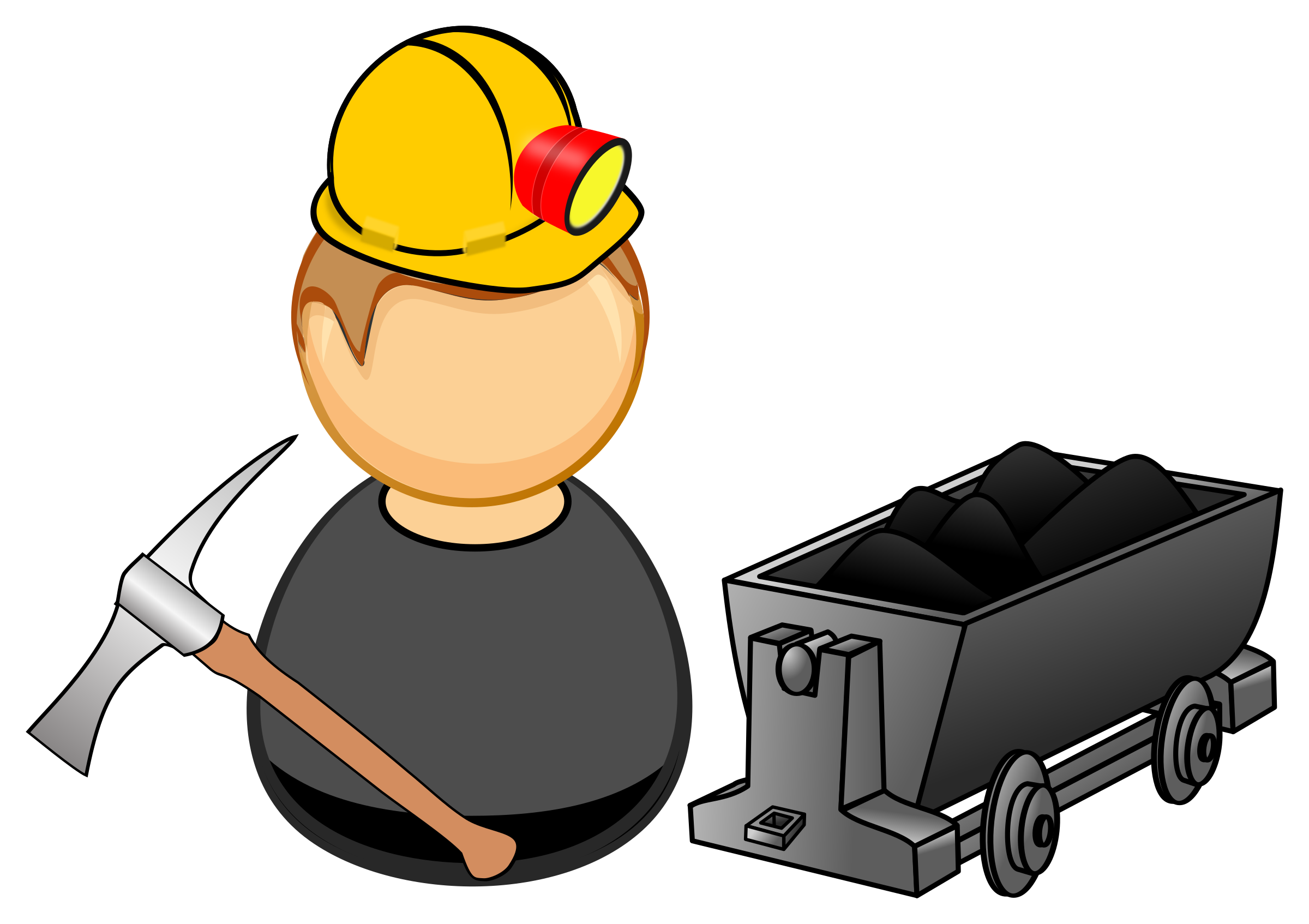 clipart miner coal miner clipart black and white coal miner clip art black and white
