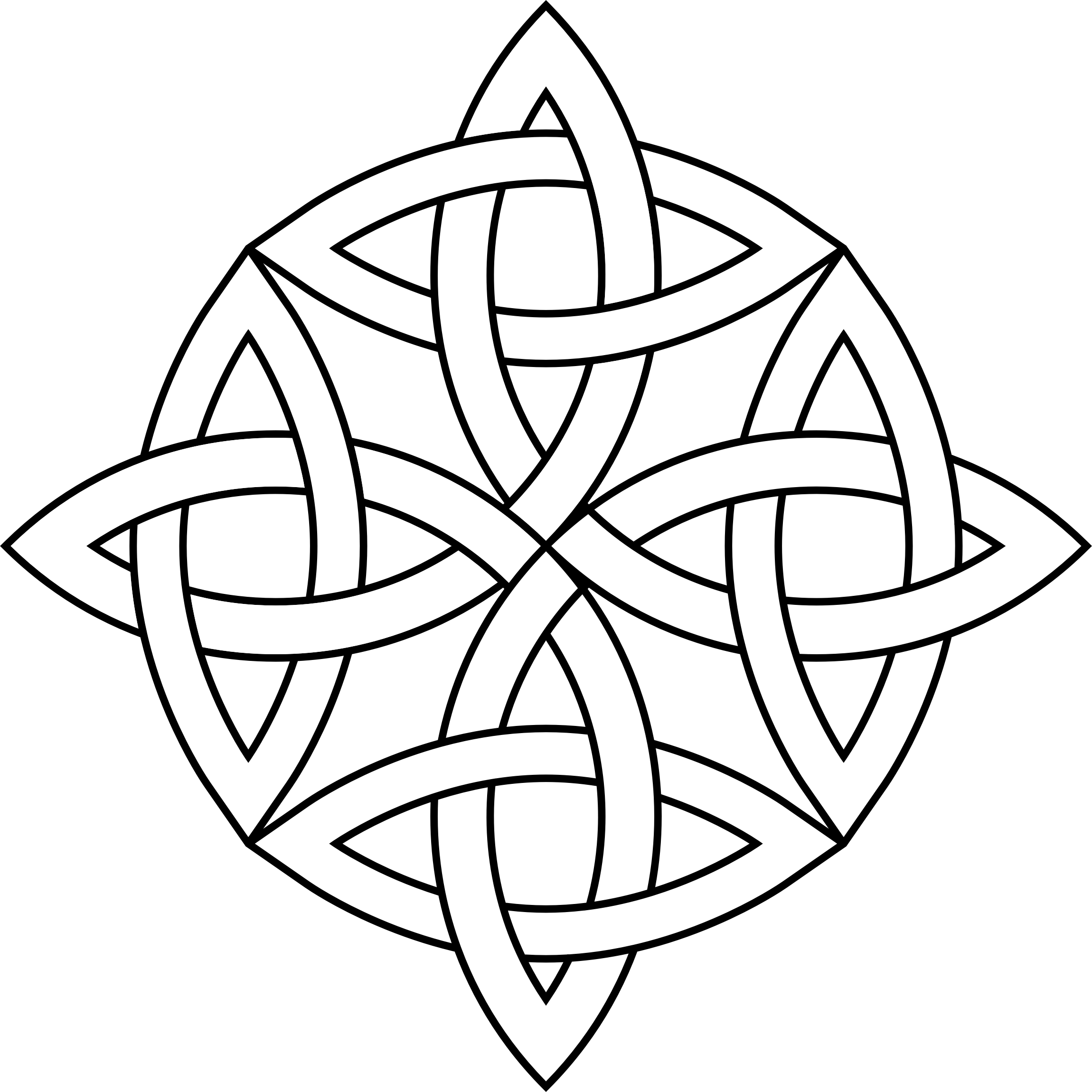 Celtic Knot Circle by GDJ