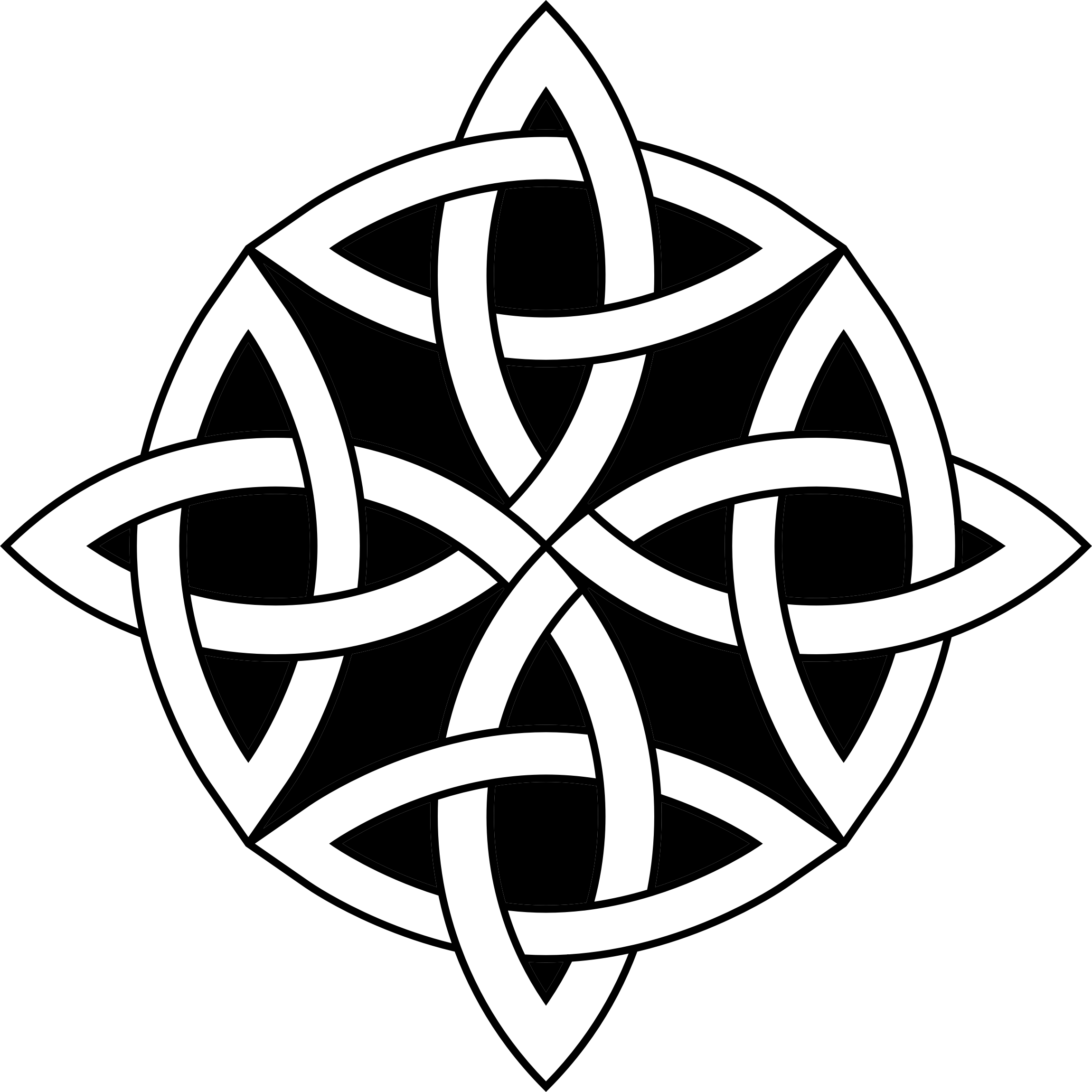 Celtic Knot Circle Variation 2 by GDJ