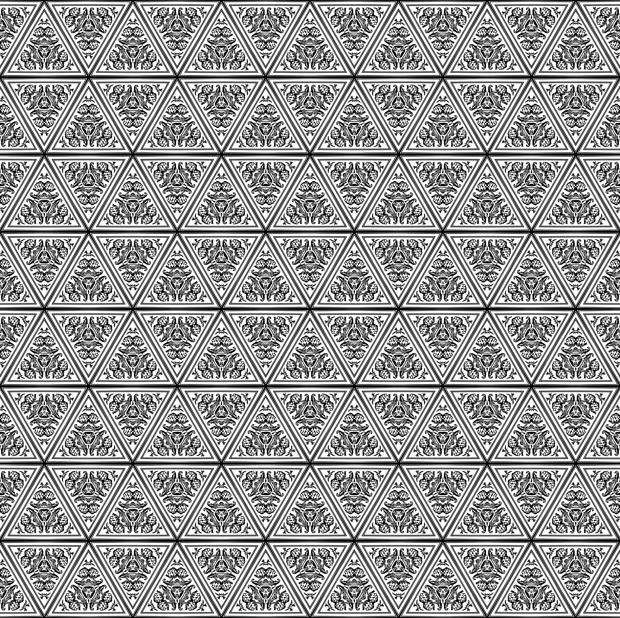 Background pattern 109 (black and white) by Firkin