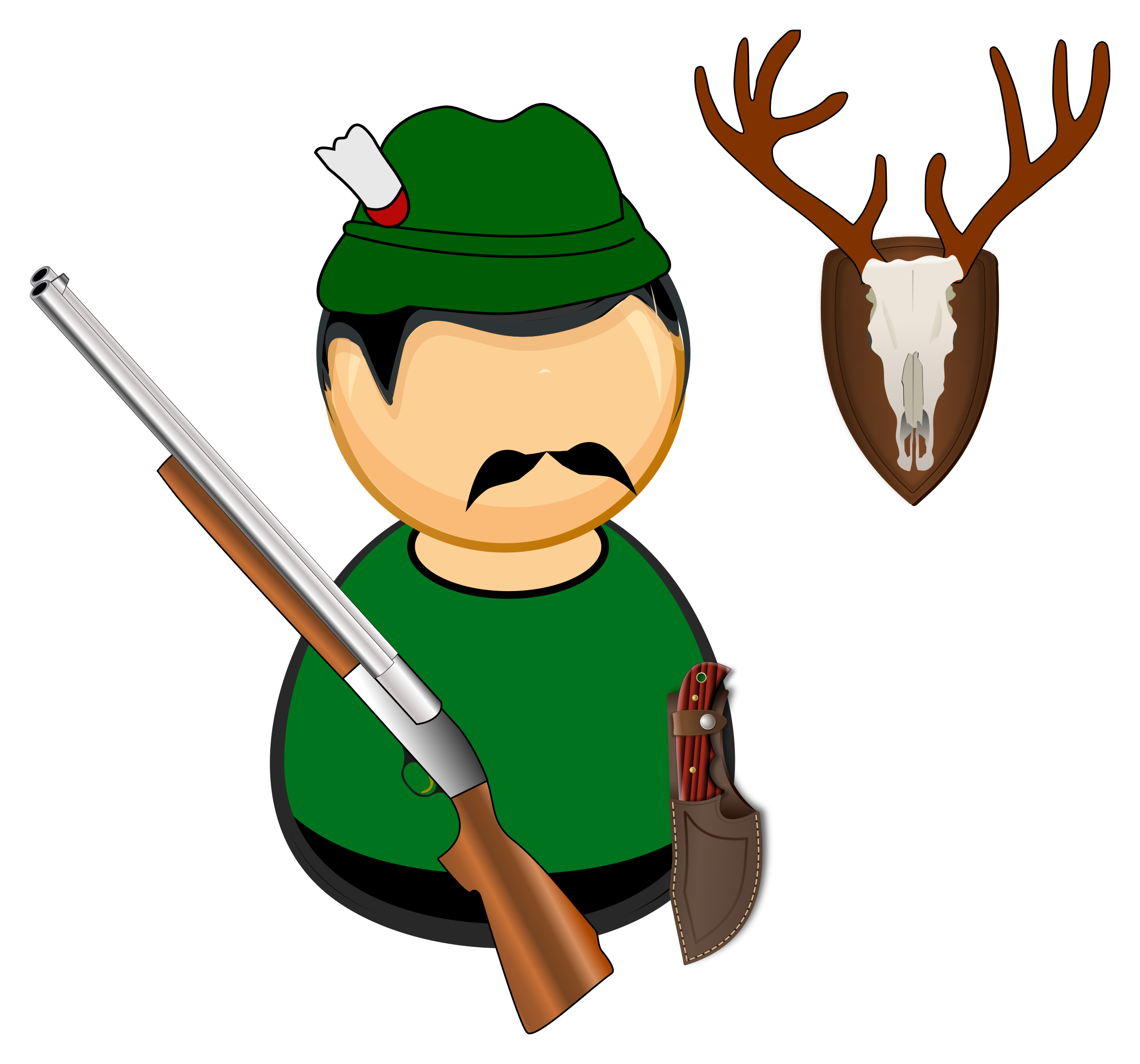 Hunter / gamekeeper by Juhele