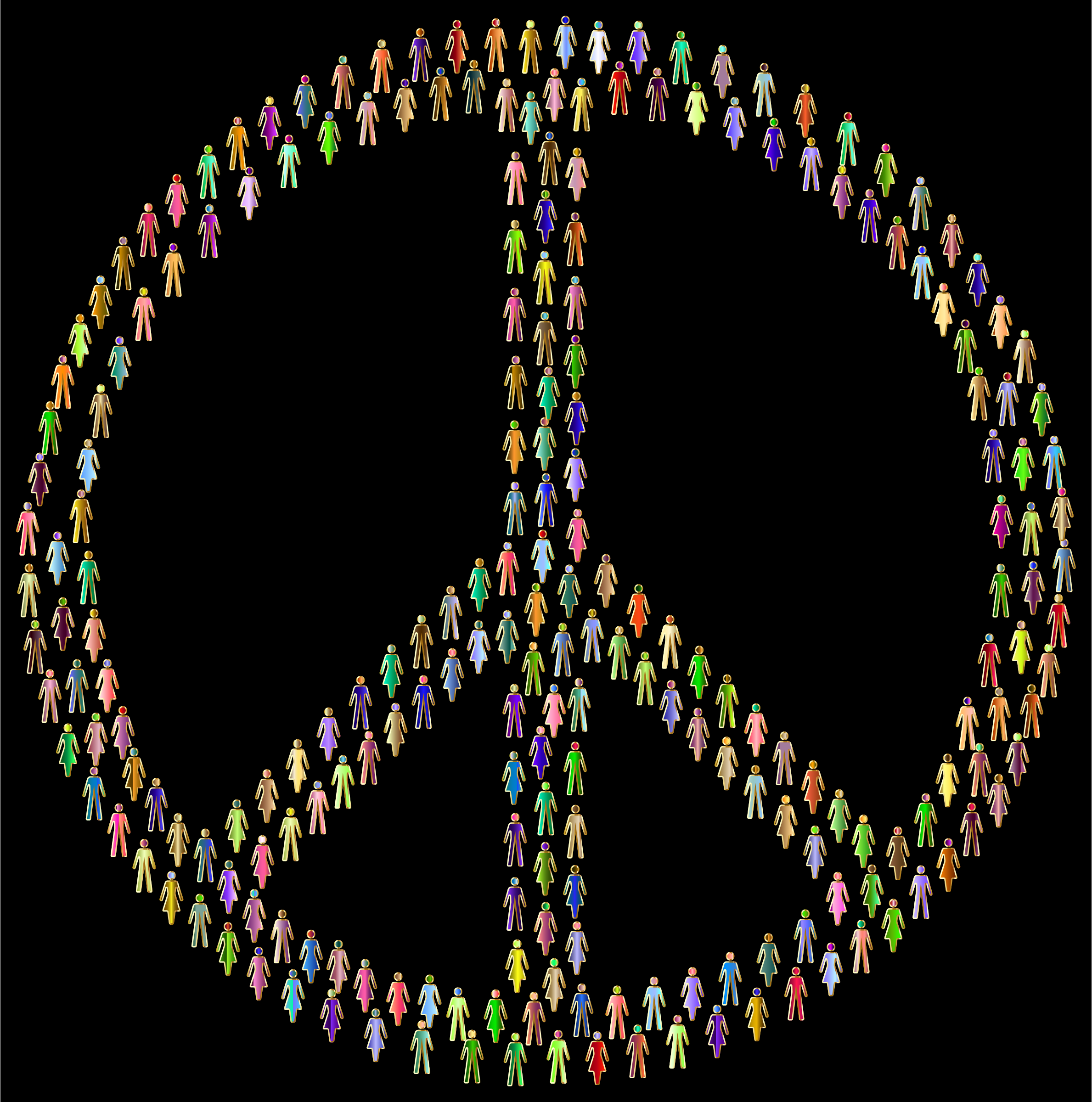 Prismatic People For Peace Mark II 6 by GDJ