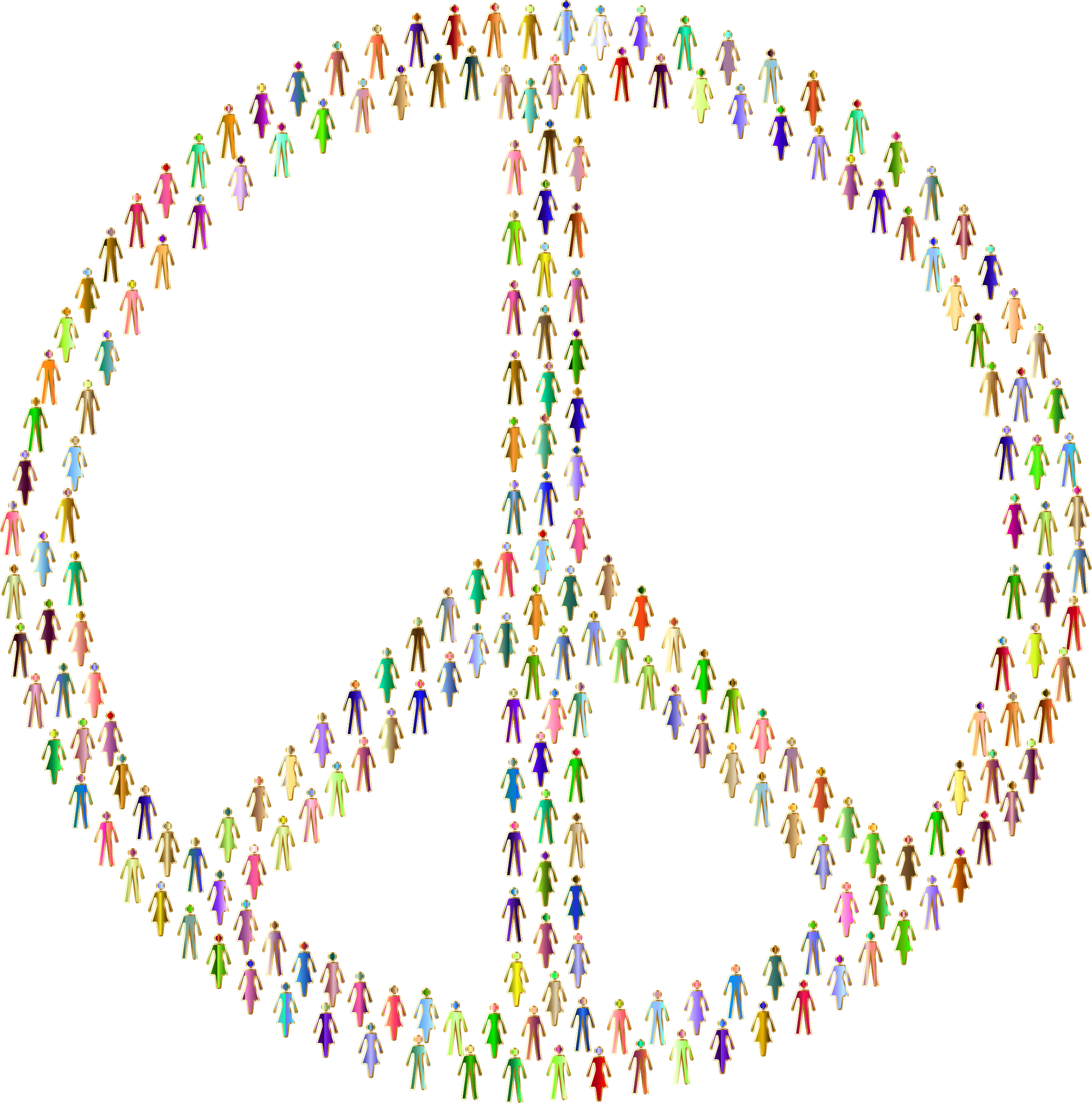 Prismatic People For Peace Mark II 6 No Background by GDJ