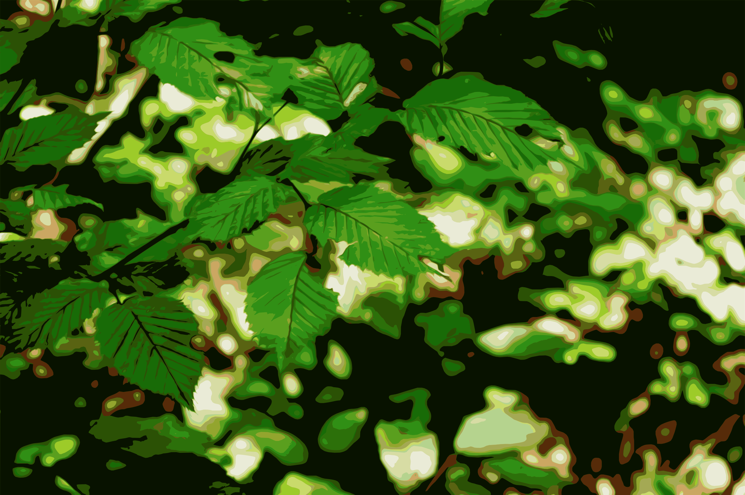 Vectorized leaves by photofree.ga