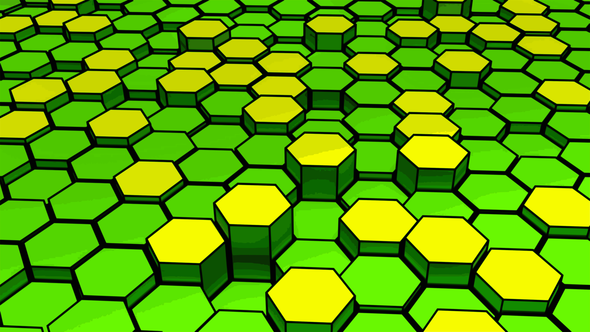 Colored Hexagons by photofree.ga