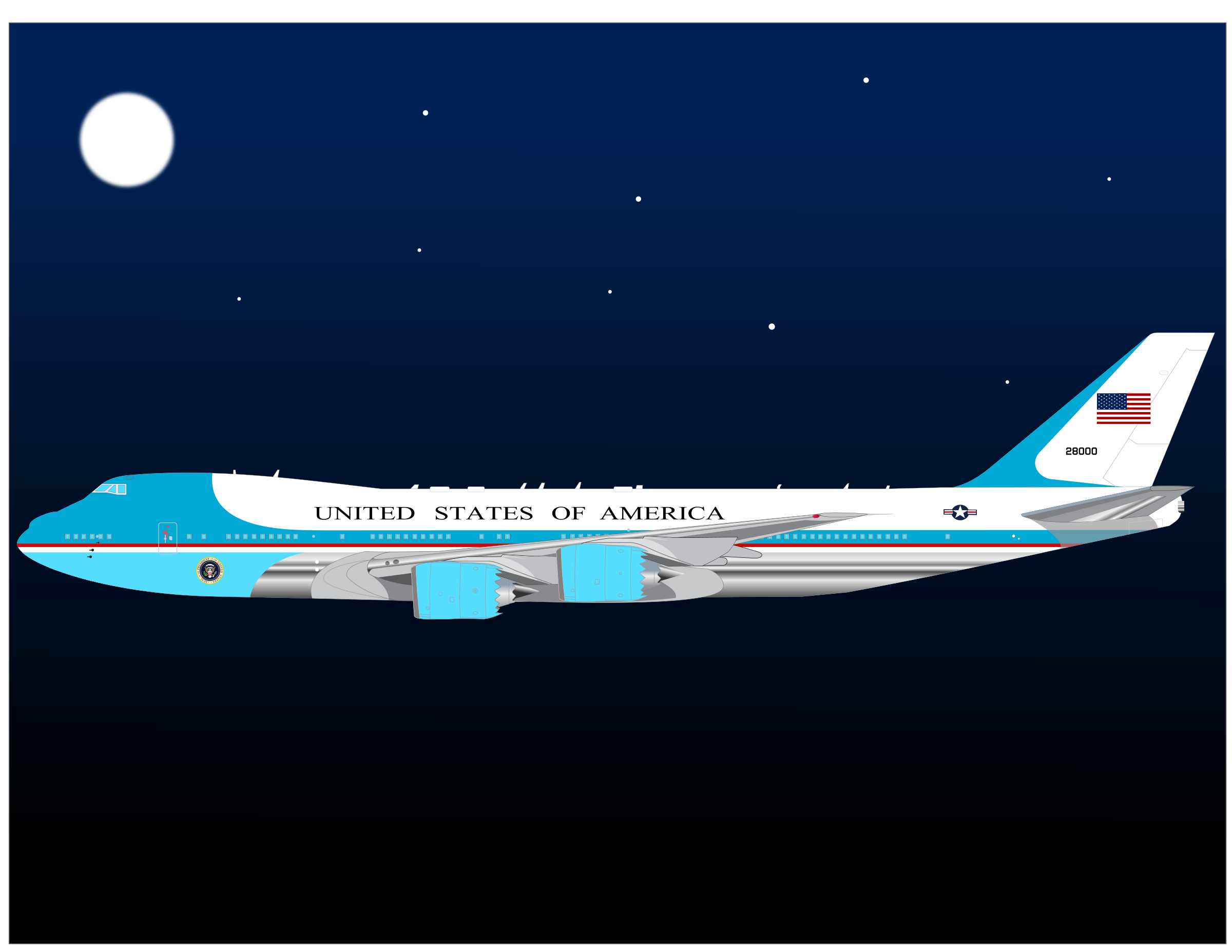 747 Air force One by charner1963