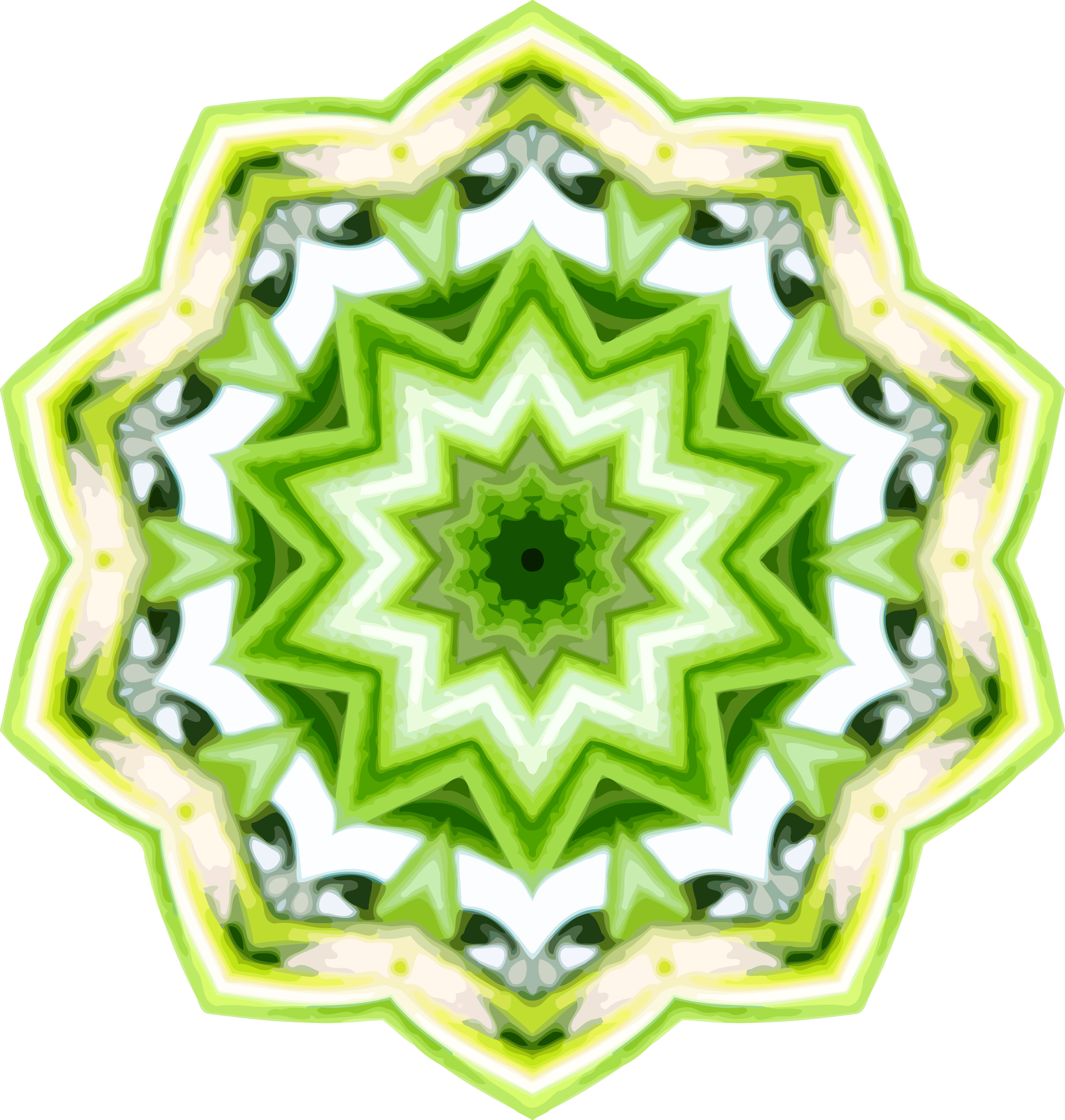 Rosemary kaleidoscope 8 by Firkin
