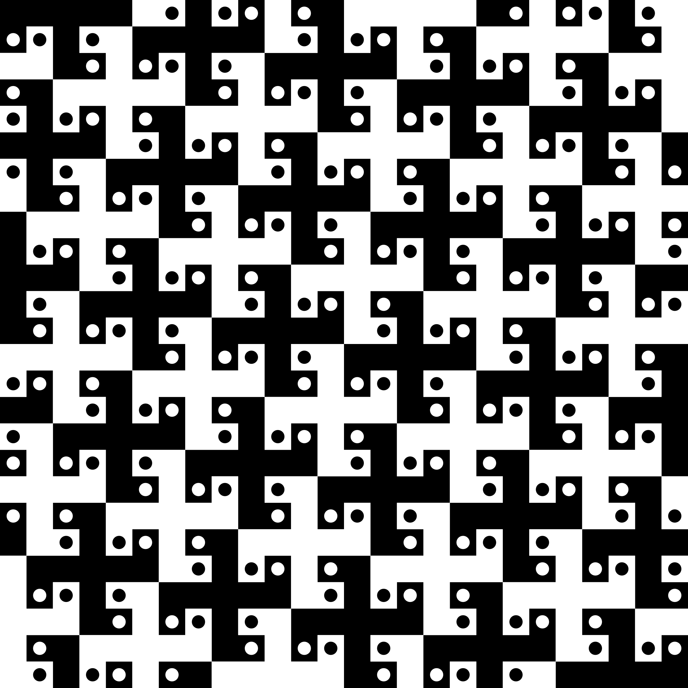 Swastika tessellation 2 by Firkin