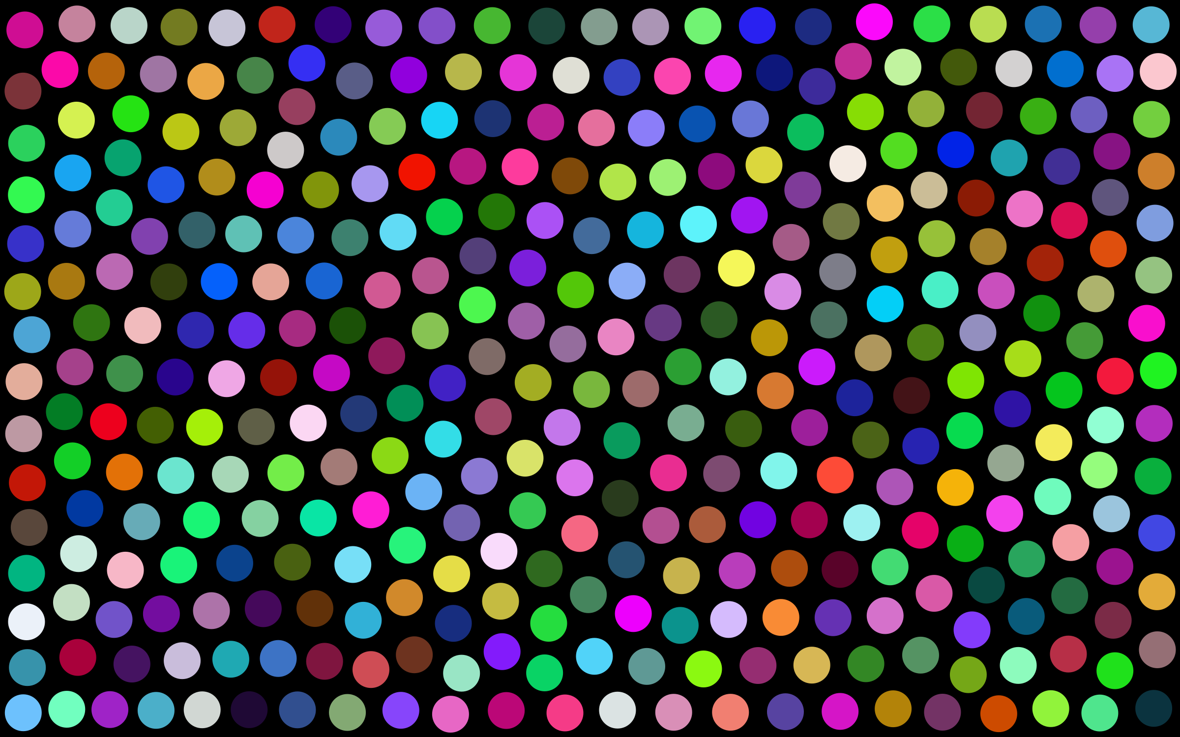 Prismatic Dots Background by GDJ