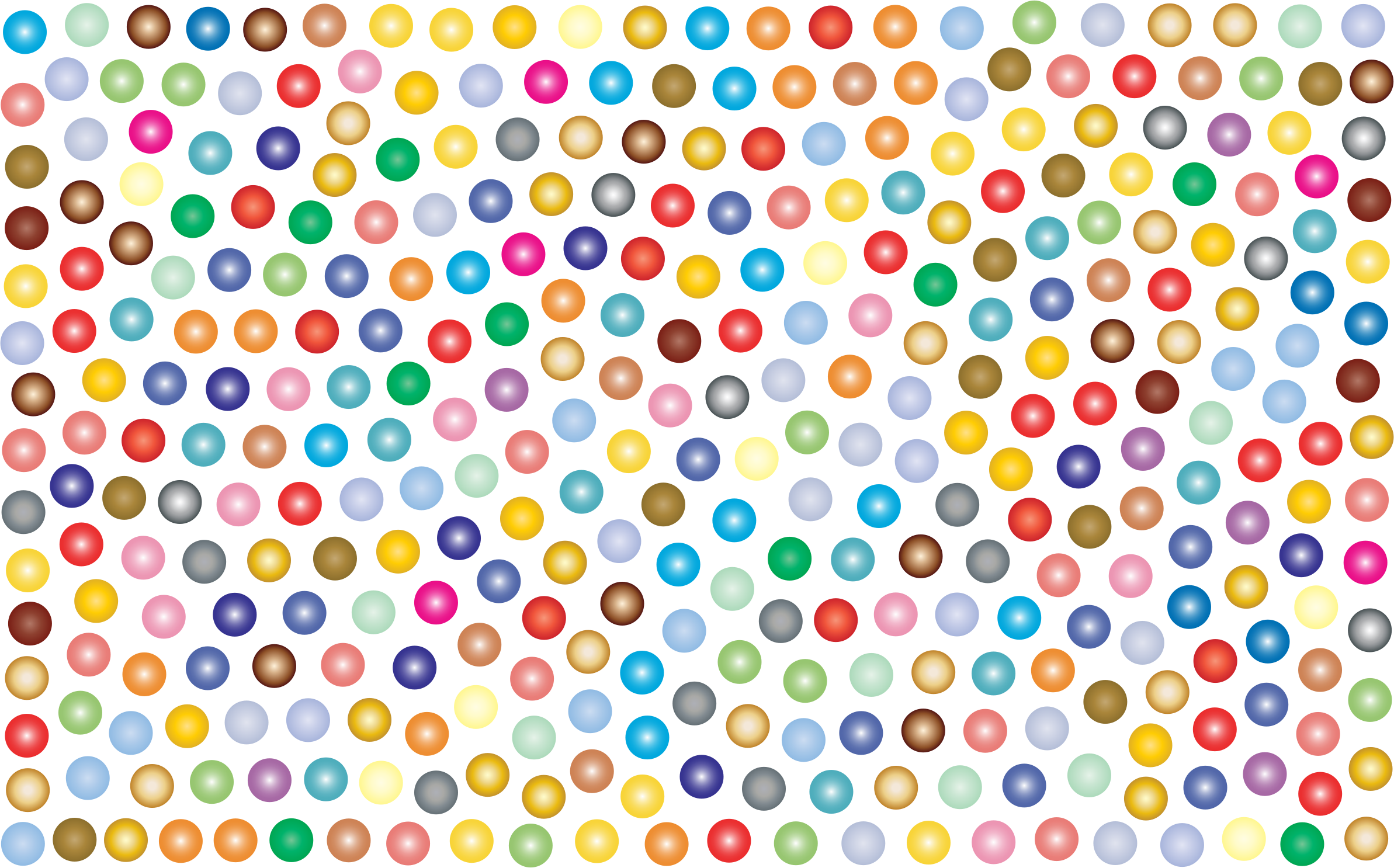 Prismatic Dots Background 2 No Background by GDJ