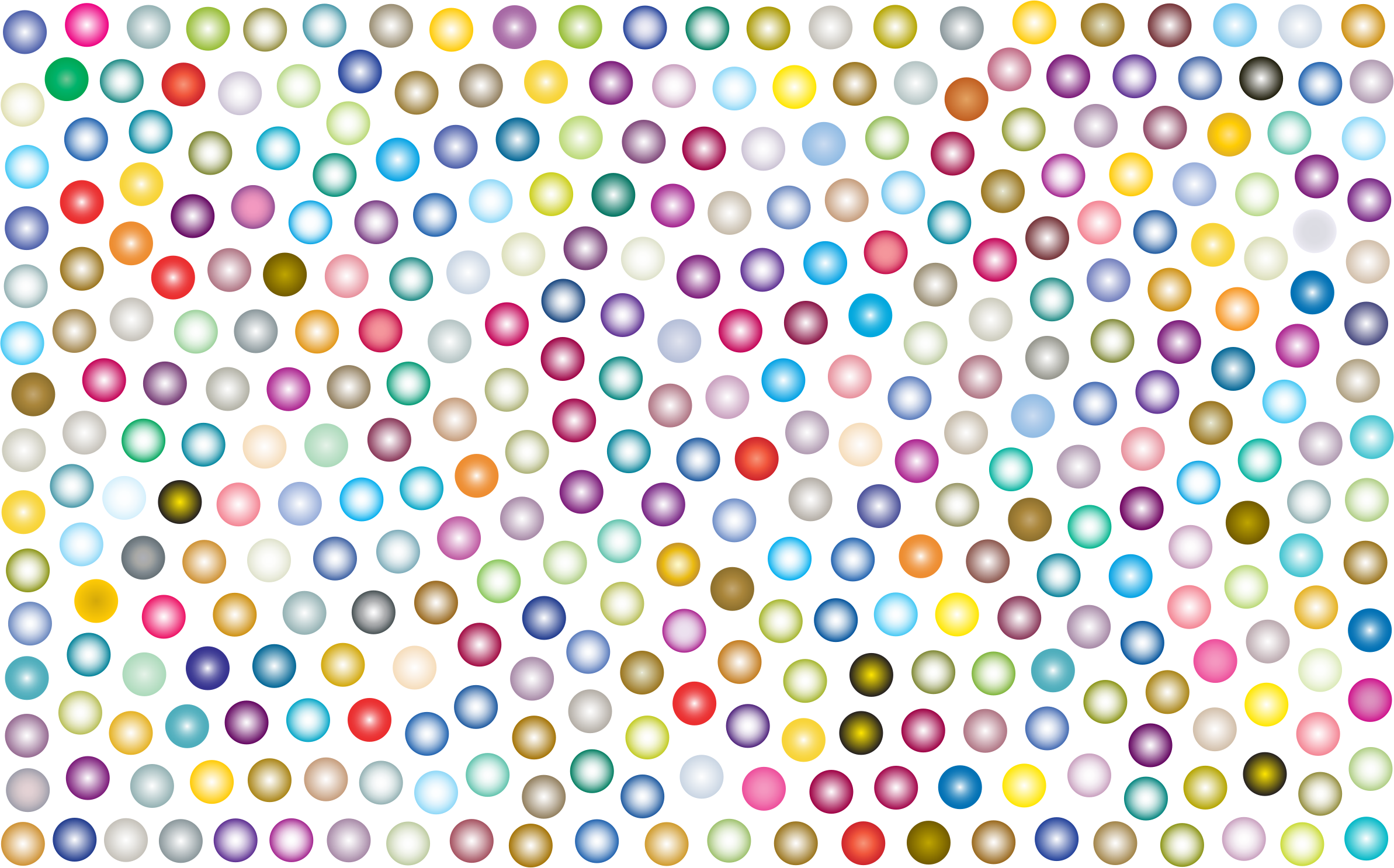 Prismatic Dots Background 3 No Background by GDJ