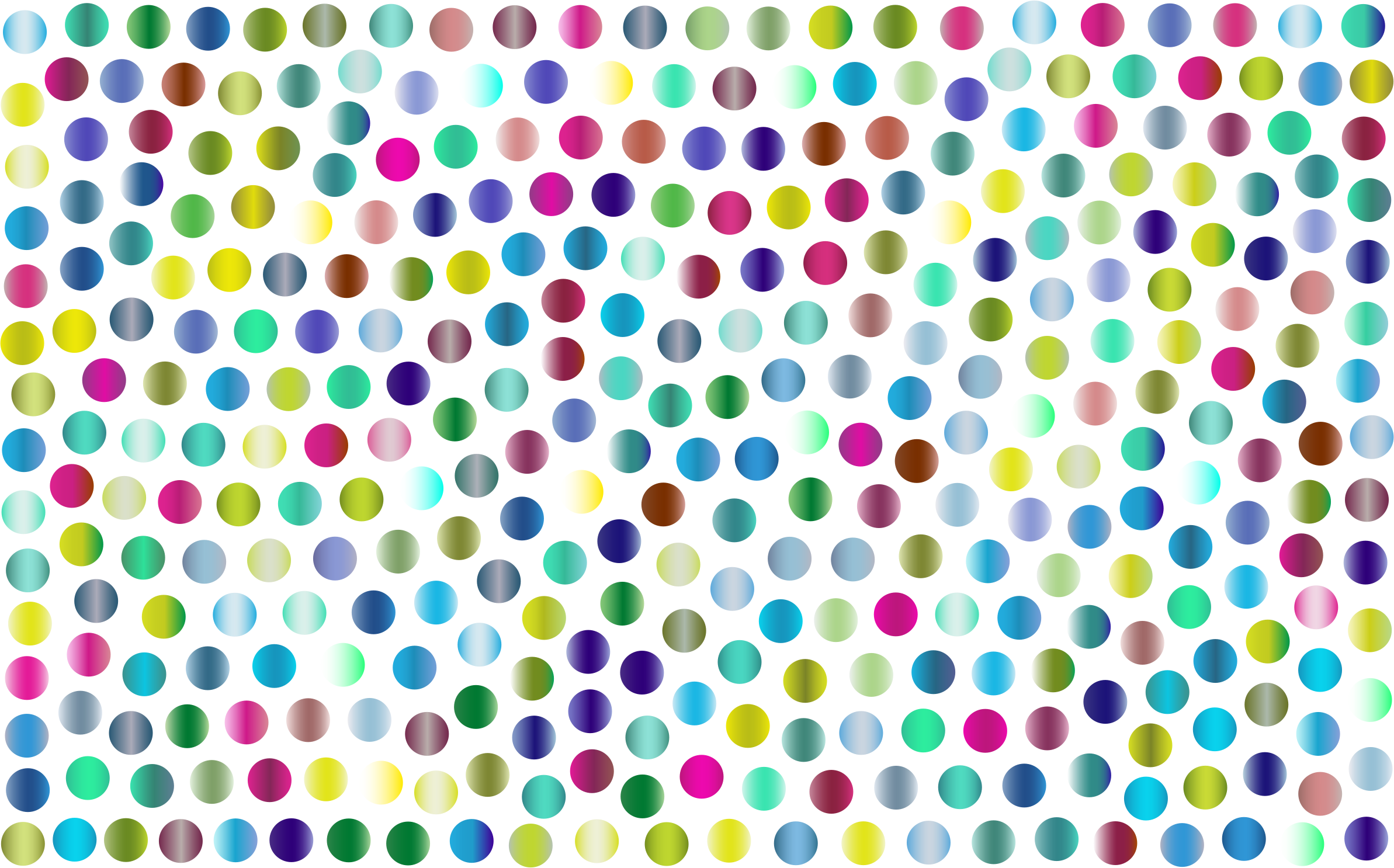 Prismatic Dots Background 4 No Background by GDJ