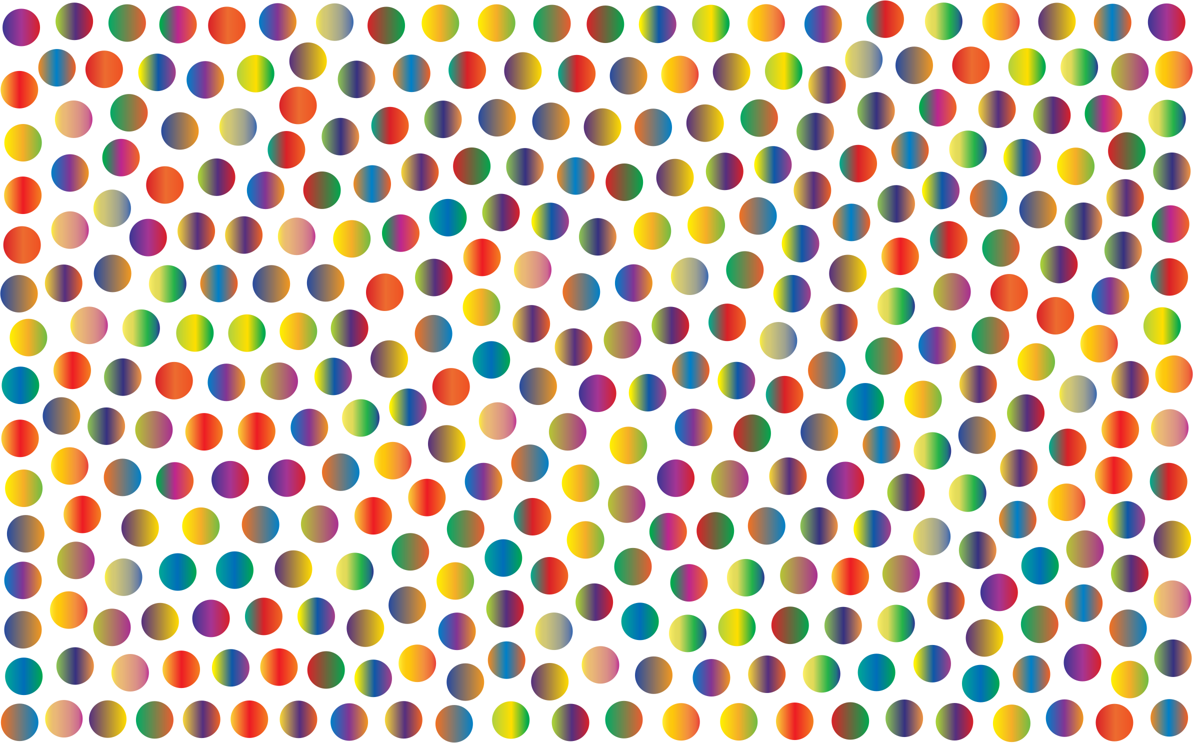 Prismatic Dots Background 5 No Background by GDJ