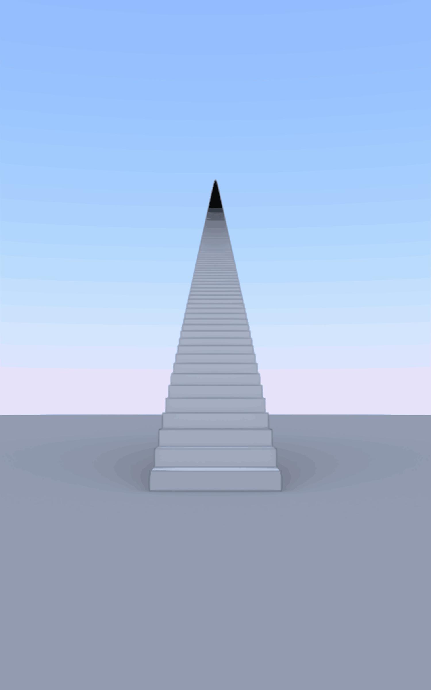 1000 Stairs vectorized by photofree.ga